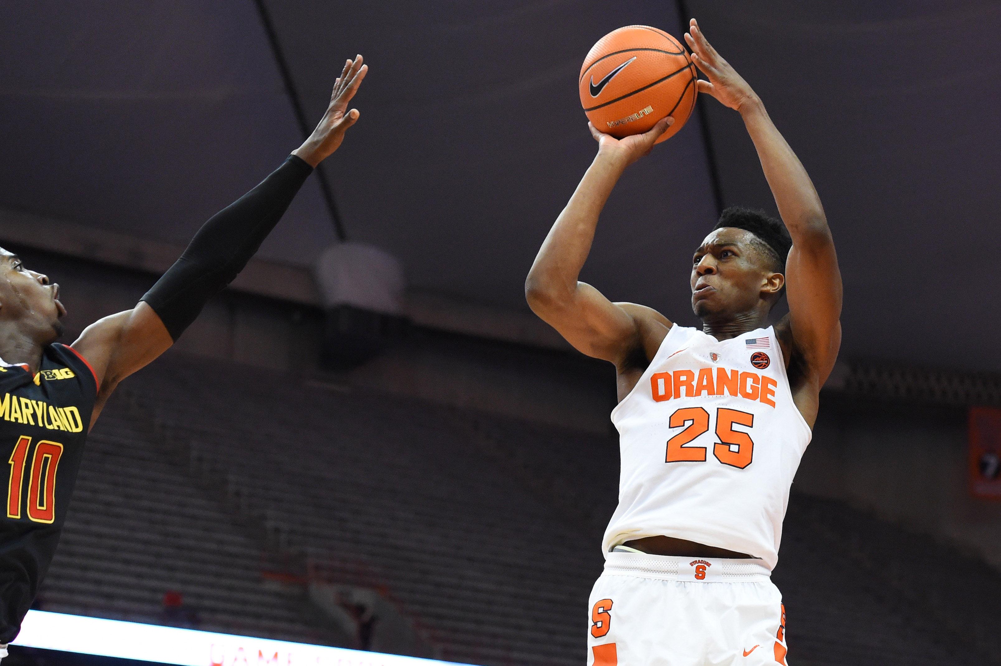 NCAA Basketball: Maryland at Syracuse