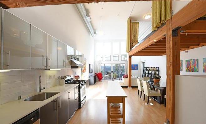 Interior loft space