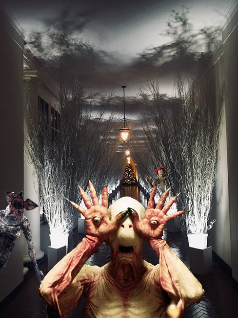 Is Melania Trump's White House Christmas aesthetic angelic or horrific? Depends whom you ask.