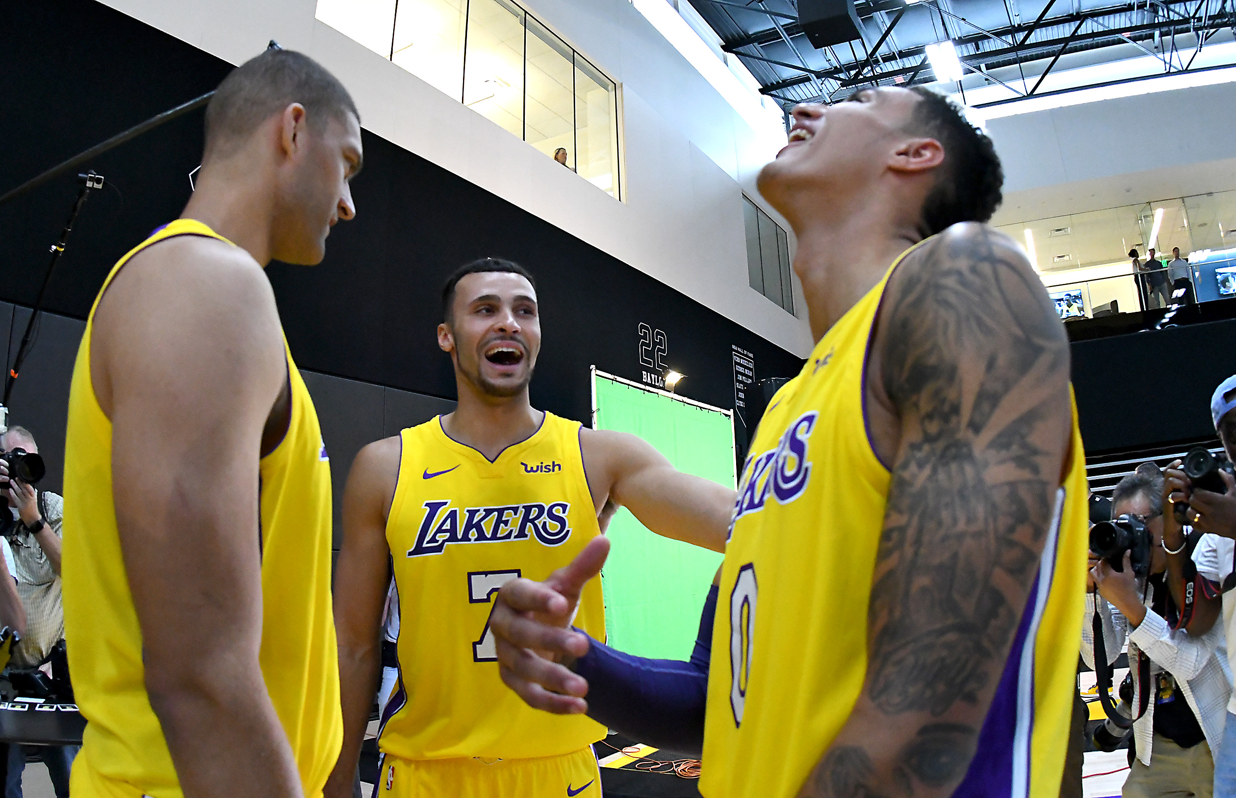 4058a0f92 Let this picture of Kuzma and Nance Jr. remind us that the Lakers have a  good problem