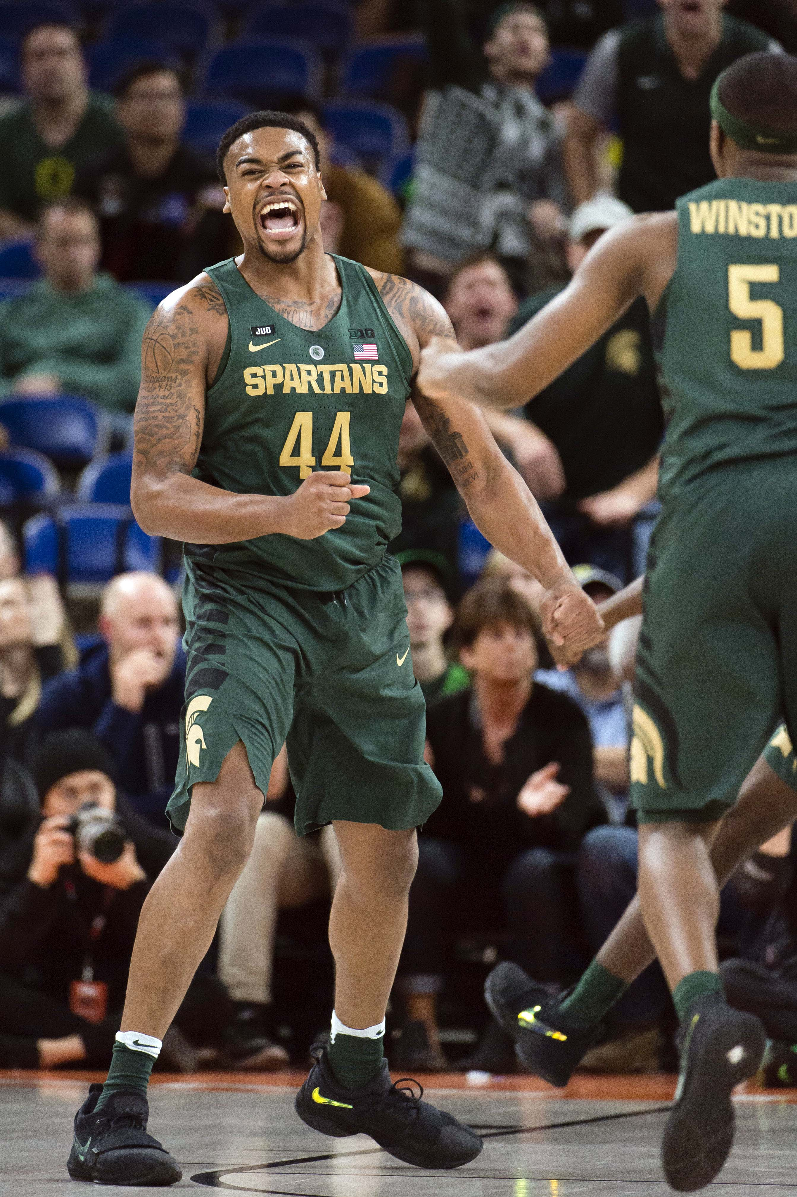 NCAA Basketball: Connecticut at Michigan State