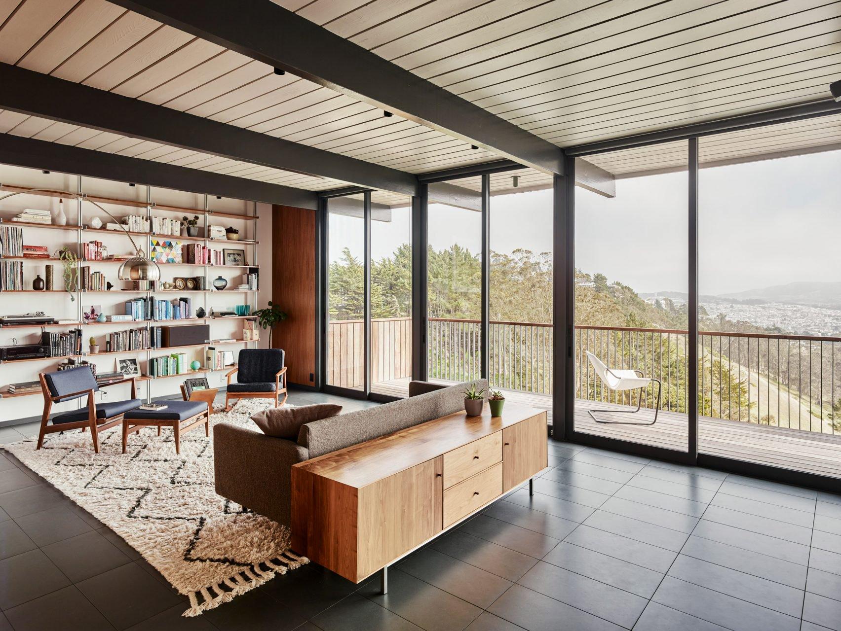 Eichler renovation in San Francisco