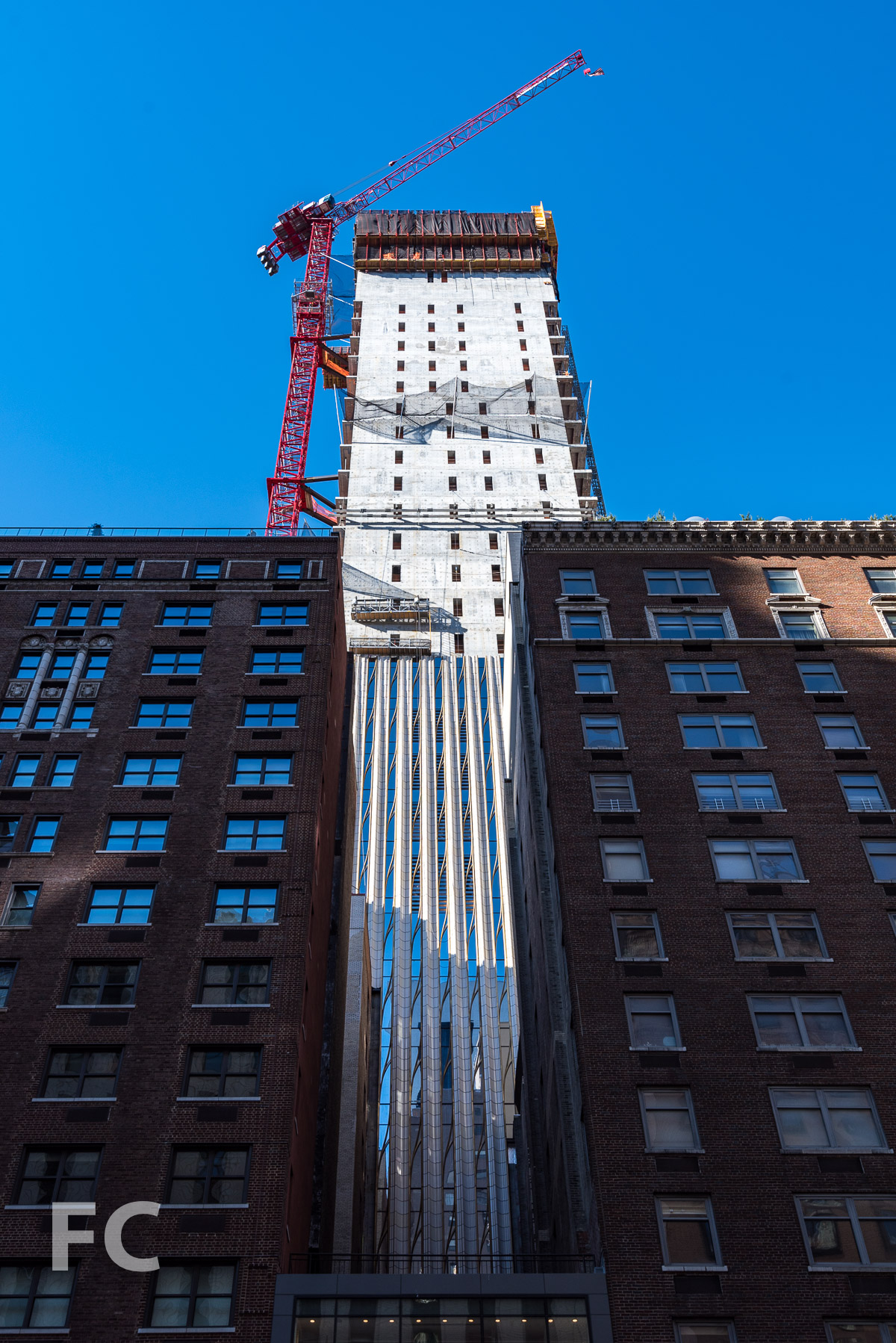 Midtown's skinny supertall at 111 West 57th Street is climbing skyward