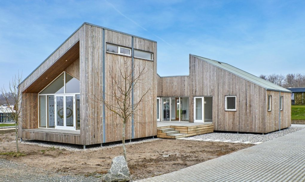 Eco-friendly modular home is built from upcycled agricultural waste