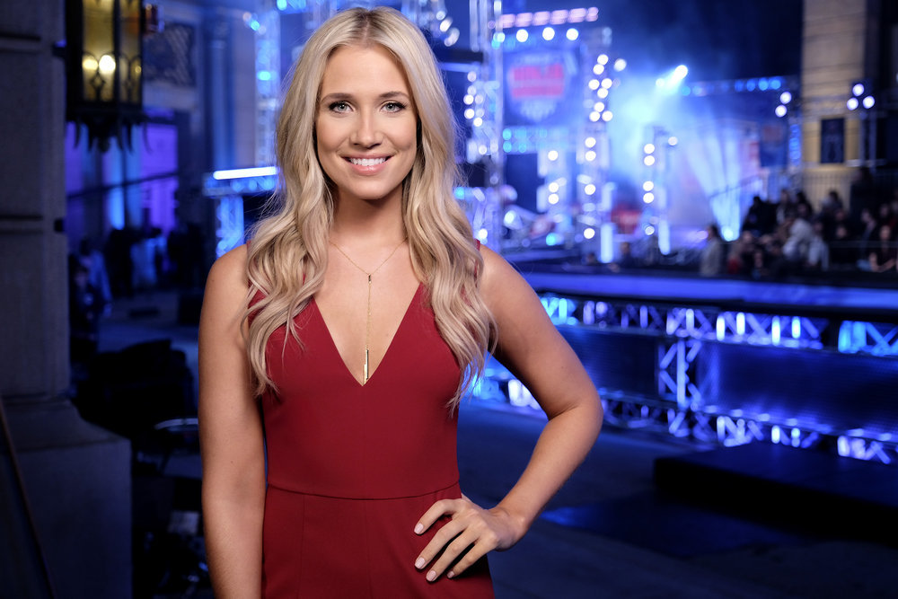 """AMERICAN NINJA WARRIOR -- """"Los Angeles Finals"""" -- Pictured: Kristine Leahy -- (Photo by: Tyler Golden/NBC)"""
