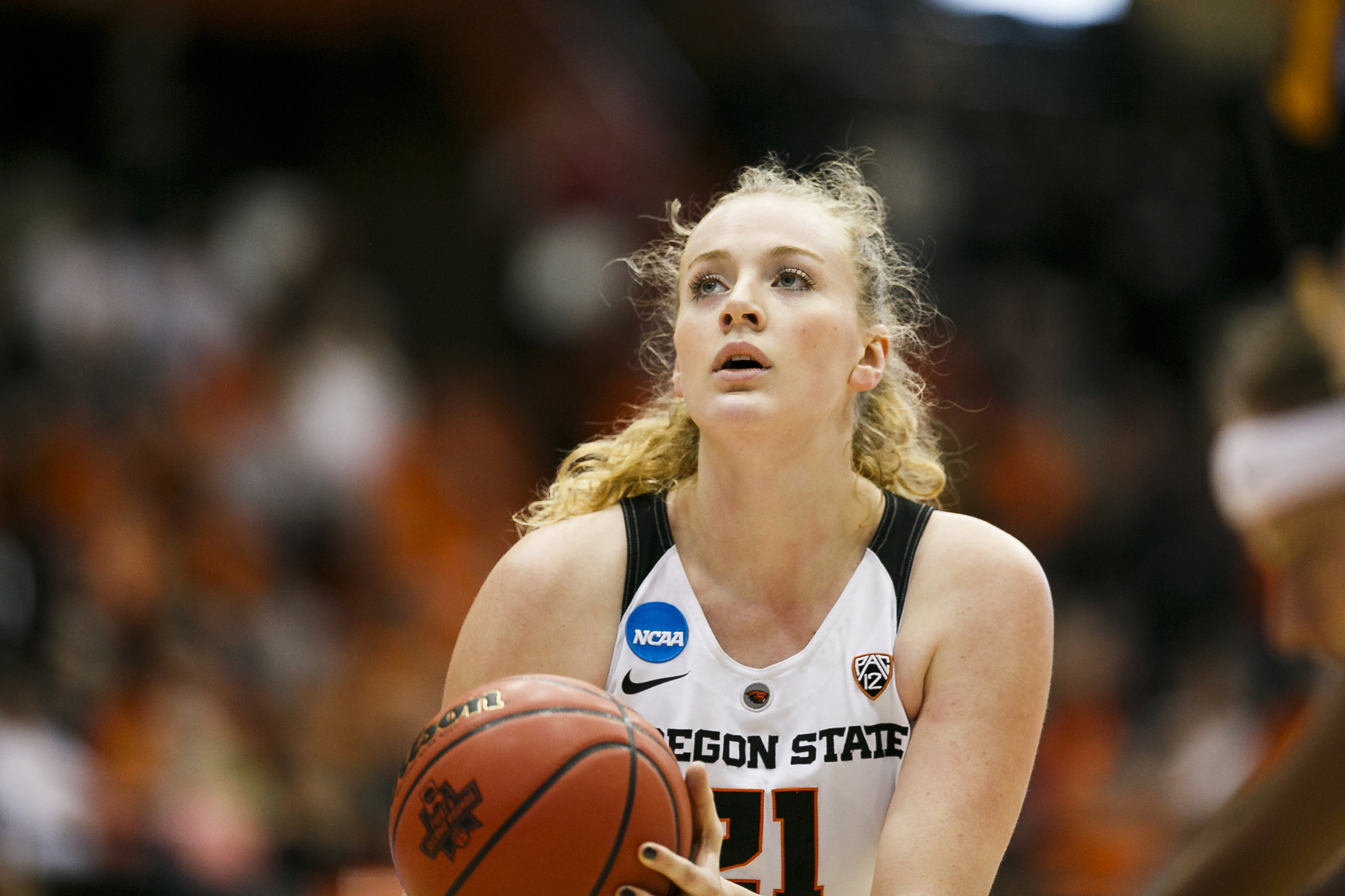 Oregon State Women's Basketball: Center Marie Gulich Named To Naismith  Trophy Watch-List