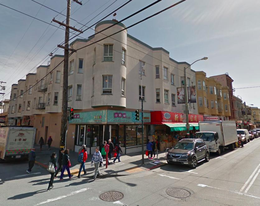 1350 Stockton, via Google Street View.