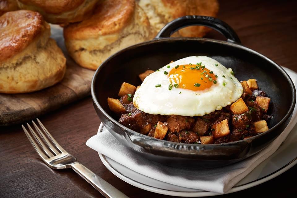 A breakfast dish at Michelin-starred Blue Duck Tavern.