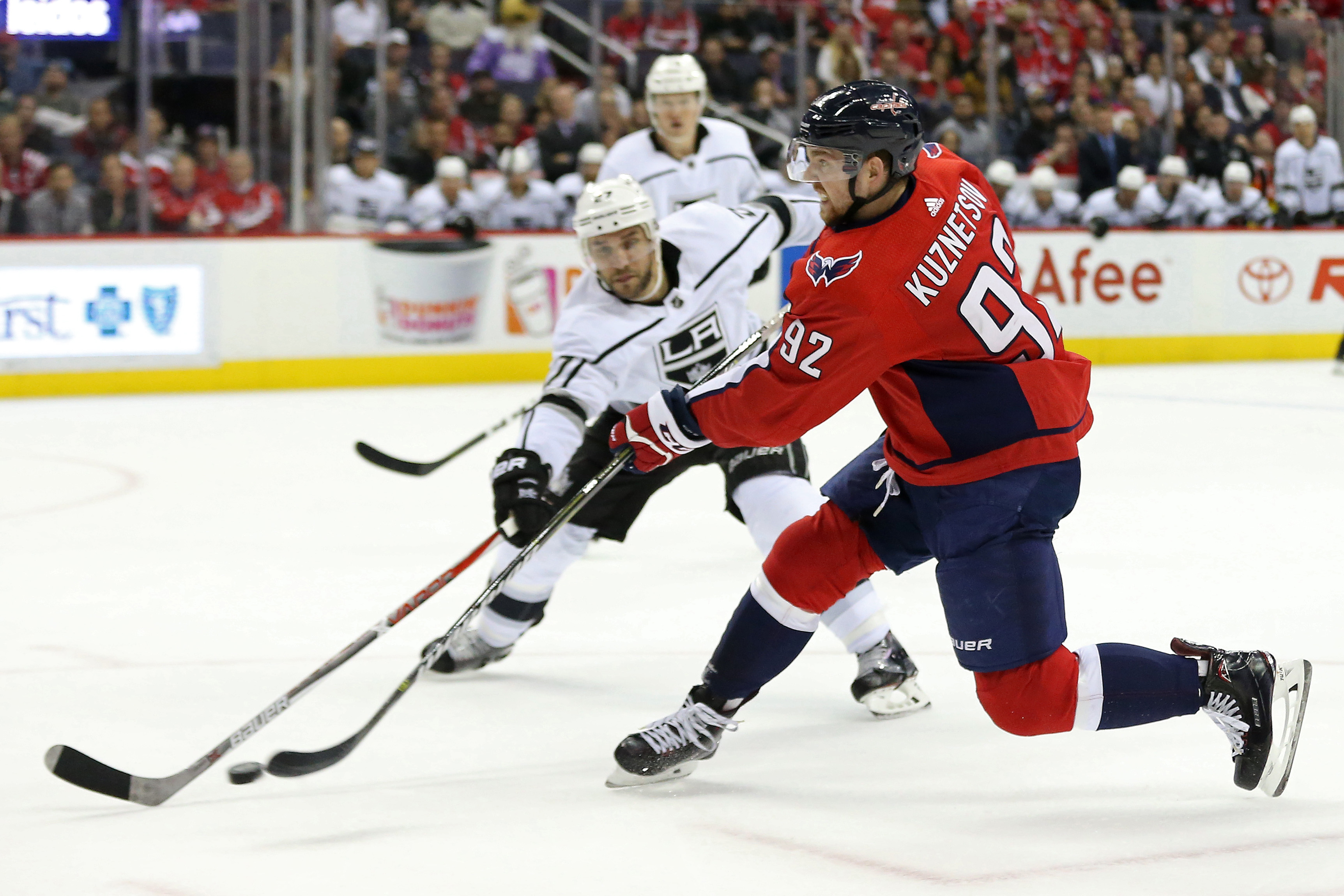 NHL: Los Angeles Kings at Washington Capitals