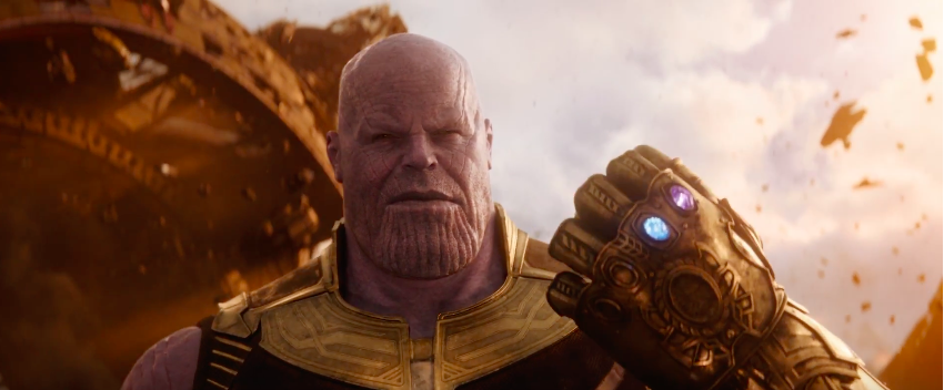 People are making fun of Thanos' new look in Avengers: Infinity War