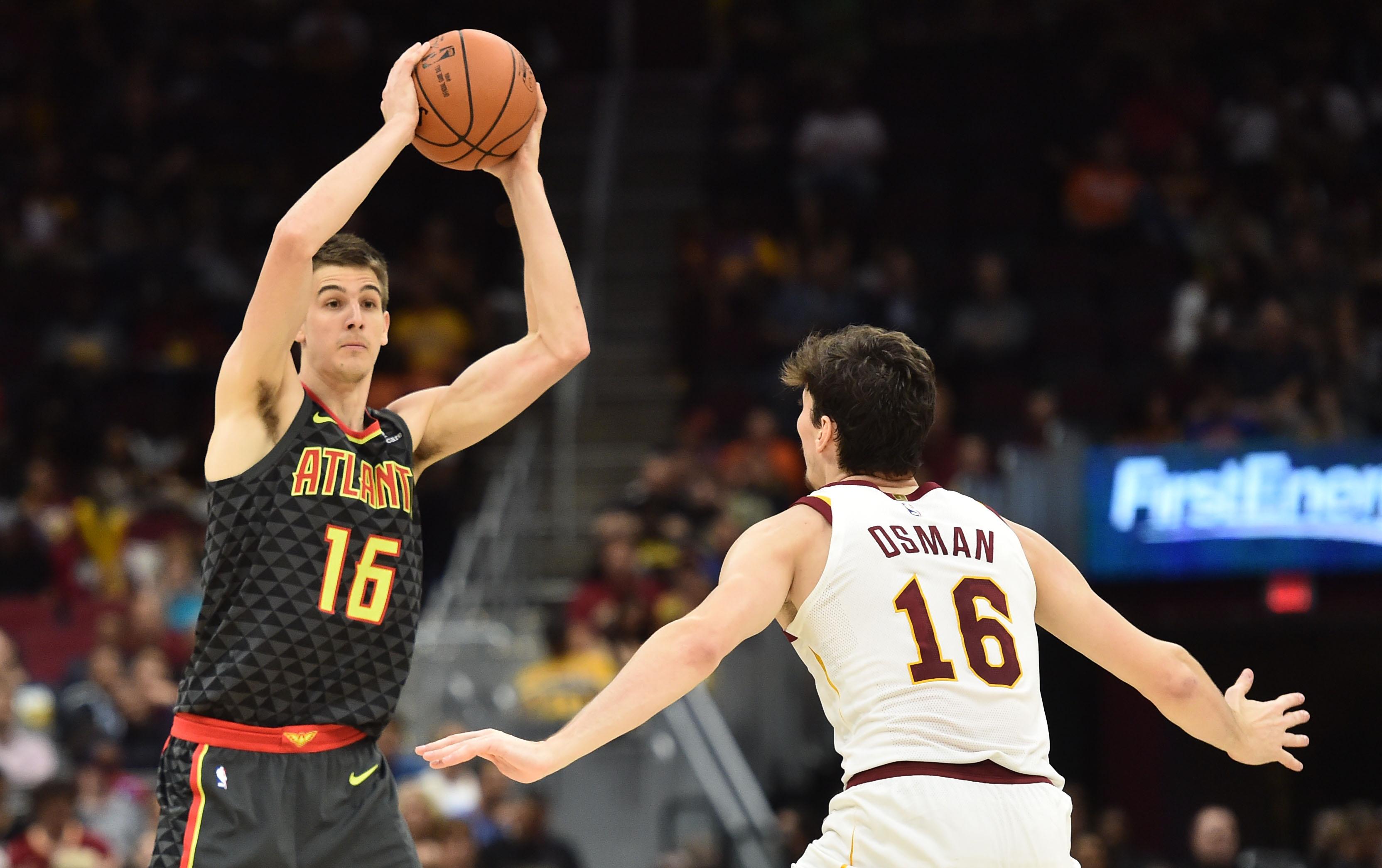 NBA: Preseason-Atlanta Hawks at Cleveland Cavaliers