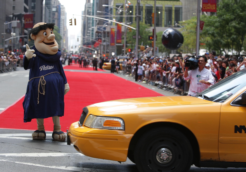 MLB All-Star Game Red Carpet Parade