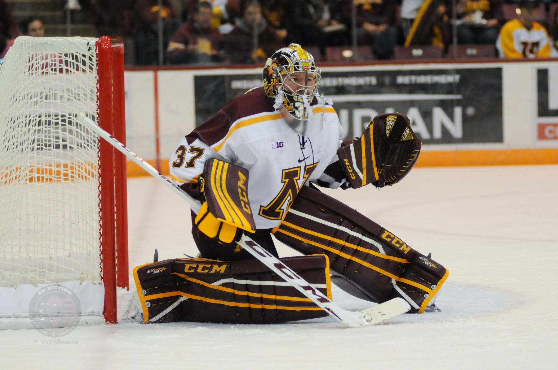 BIG10: Gophers Crash The Net But Can't Beat Wisconsin In Men's Hockey