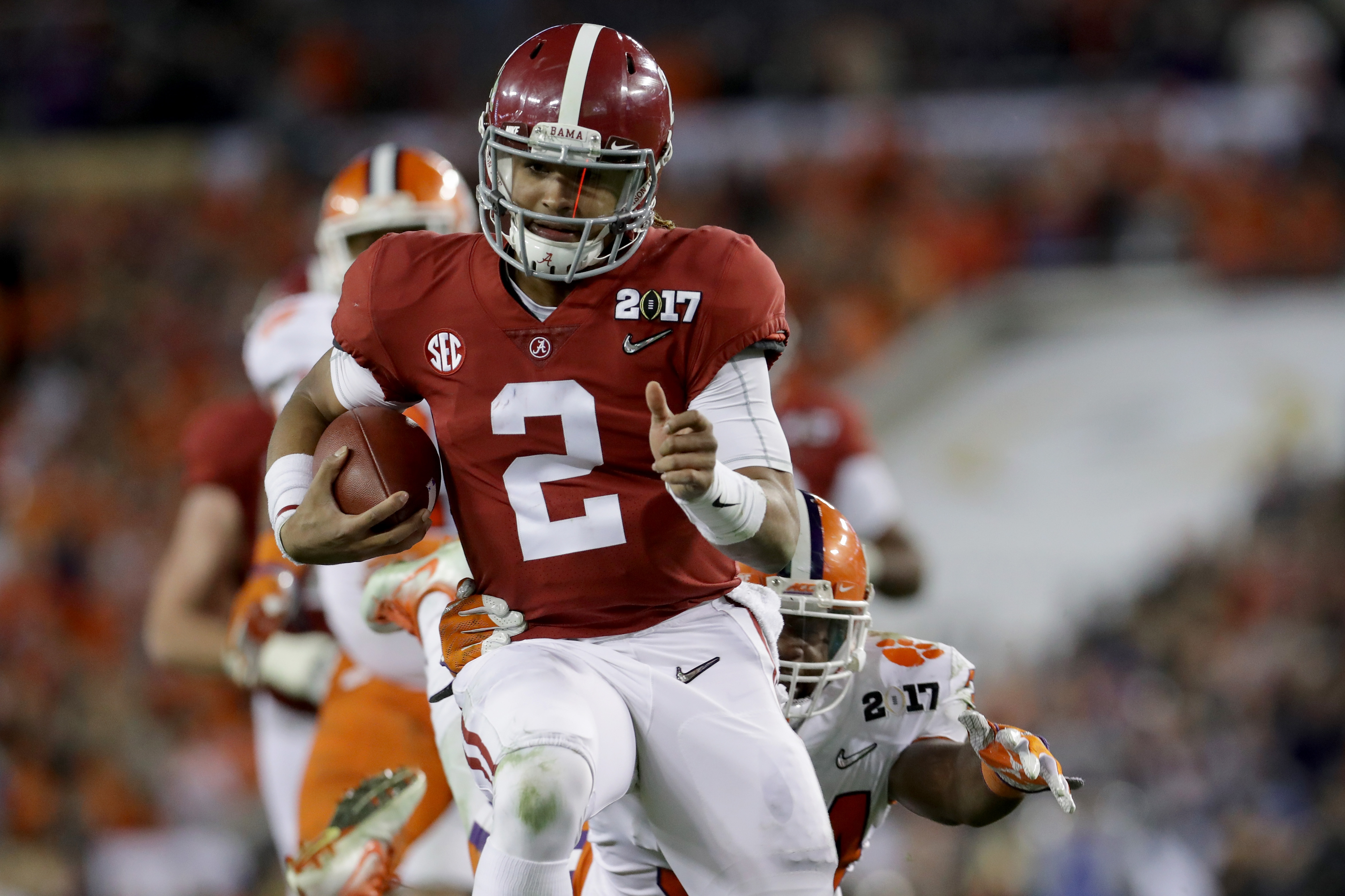 huge discount 2506f 5632f 2018 CFB Playoff, Alabama vs. Clemson: Time, TV channel ...