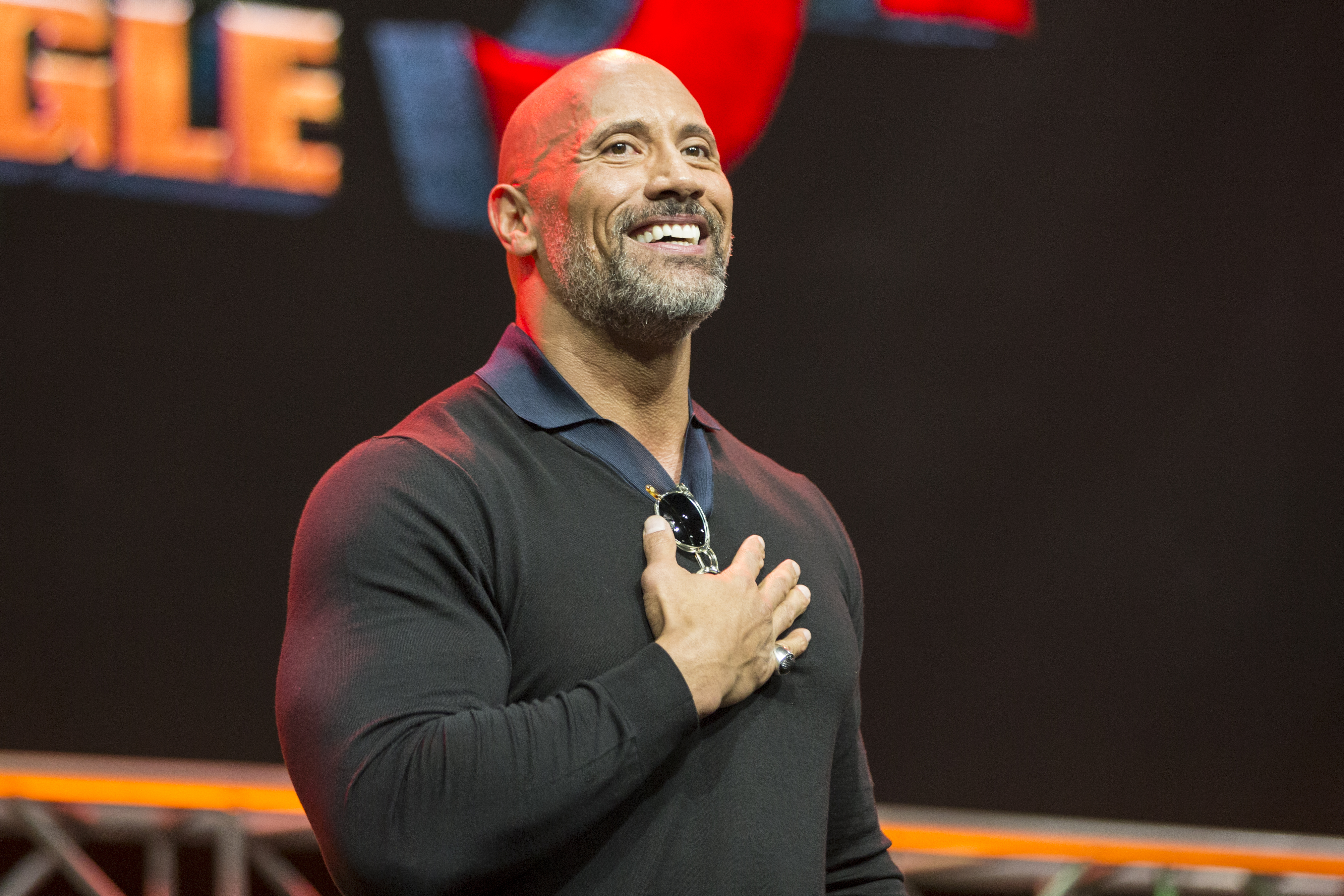 ENTERTAINMENT WEEKLY Presents Dwayne 'The Rock' Johnson at Stan Lee's Los Angeles Comic-Con on Saturda,, October 28, 2017