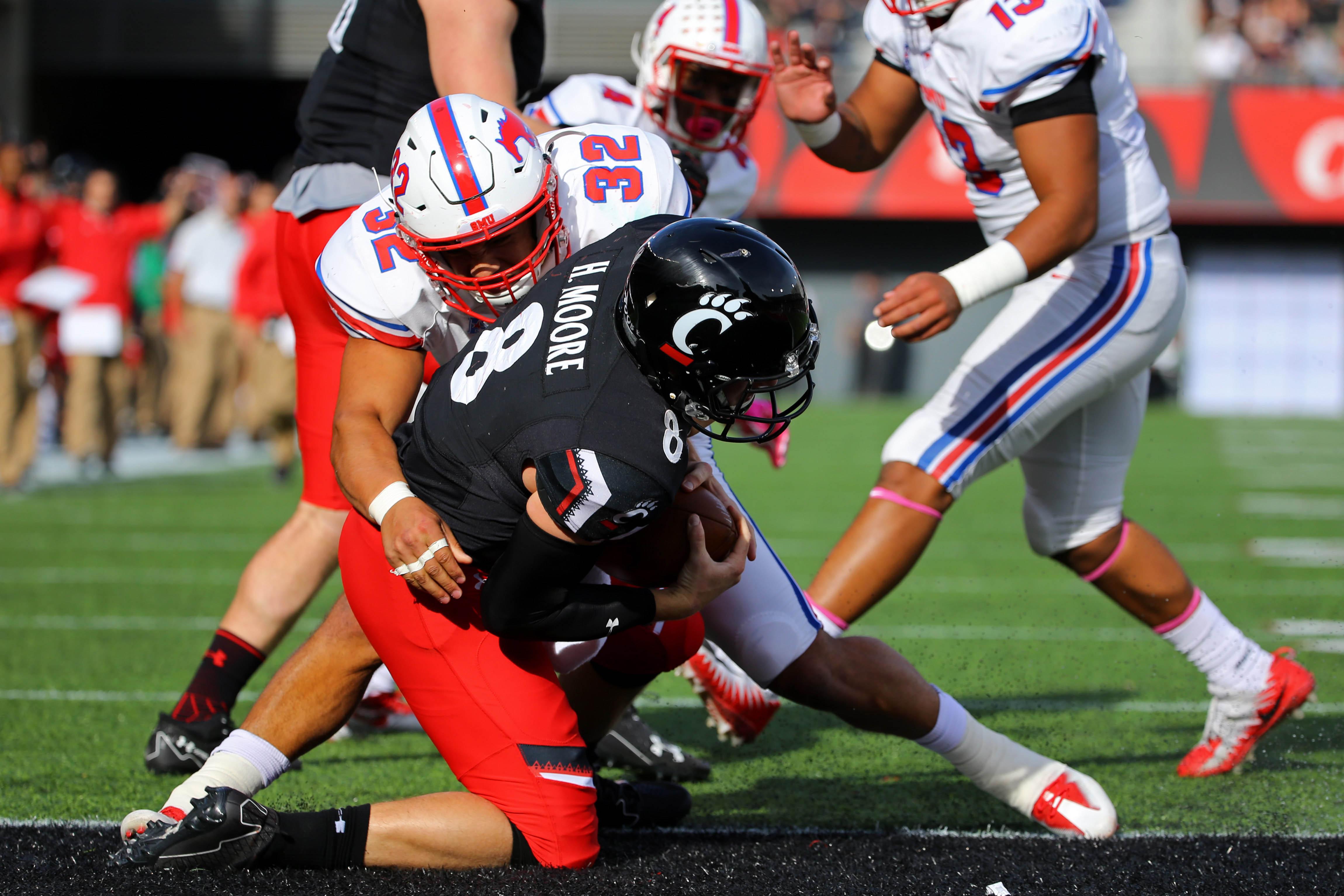 NCAA Football: Southern Methodist at Cincinnati