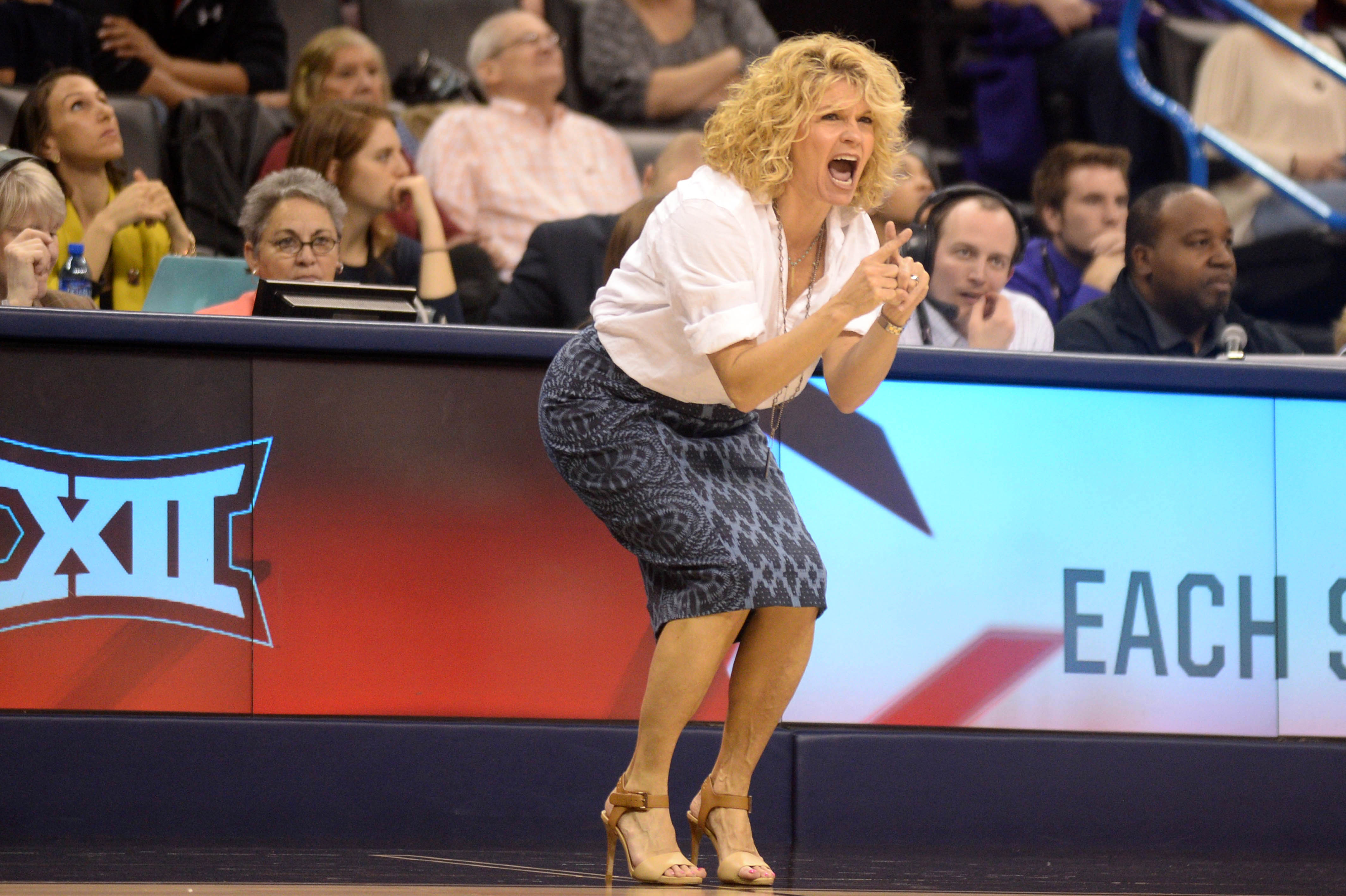 NCAA Womens Basketball: Big 12 Conference Tournament-Baylor vs Oklahoma