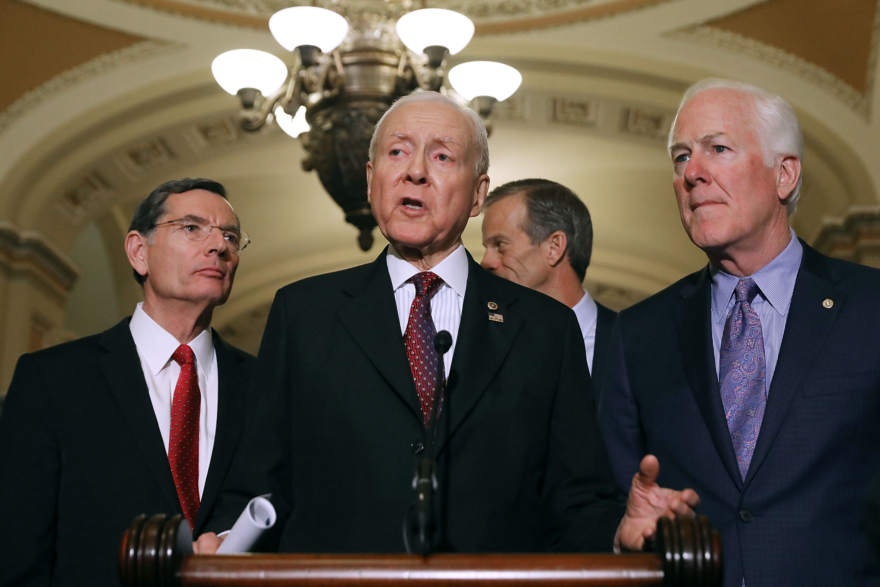 Orrin Hatch just made the Republican agenda startlingly clear