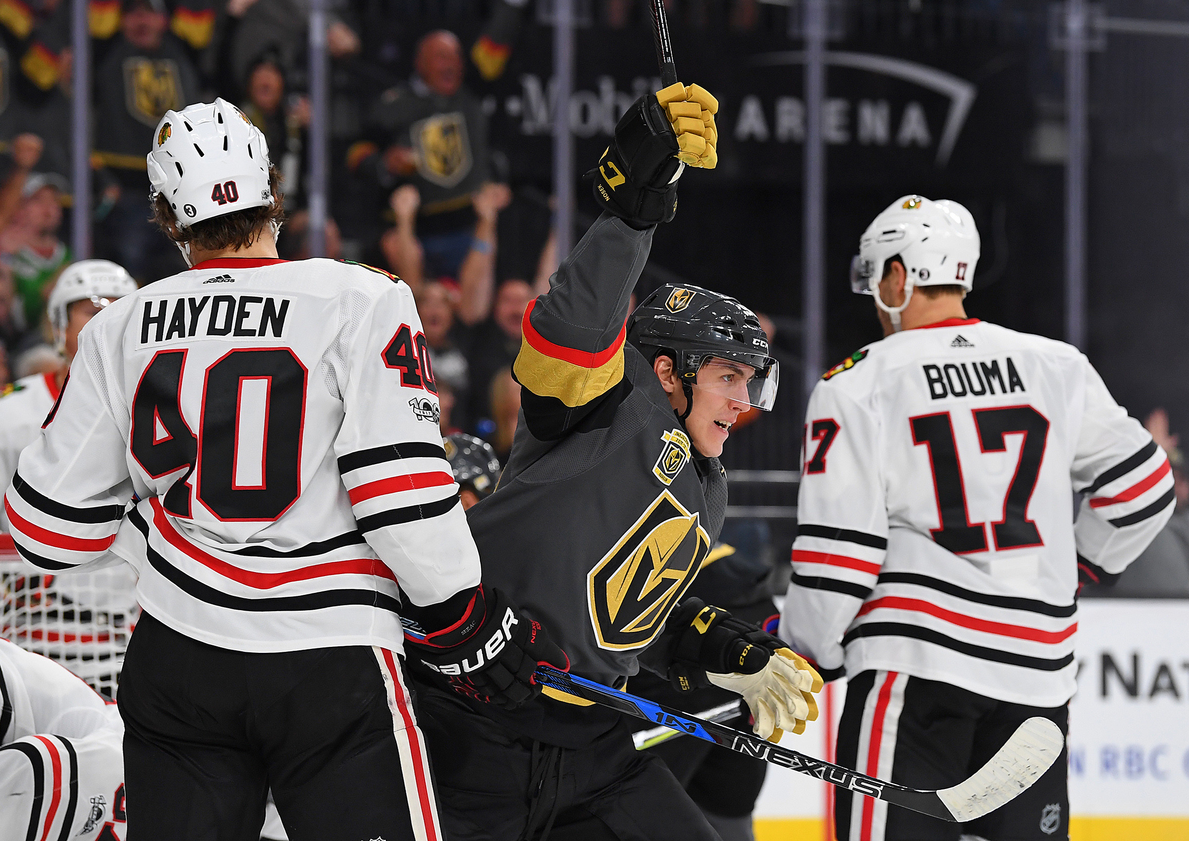 Tomas Nosek Has Anchored The Golden Knights Fourth Line Perfectly