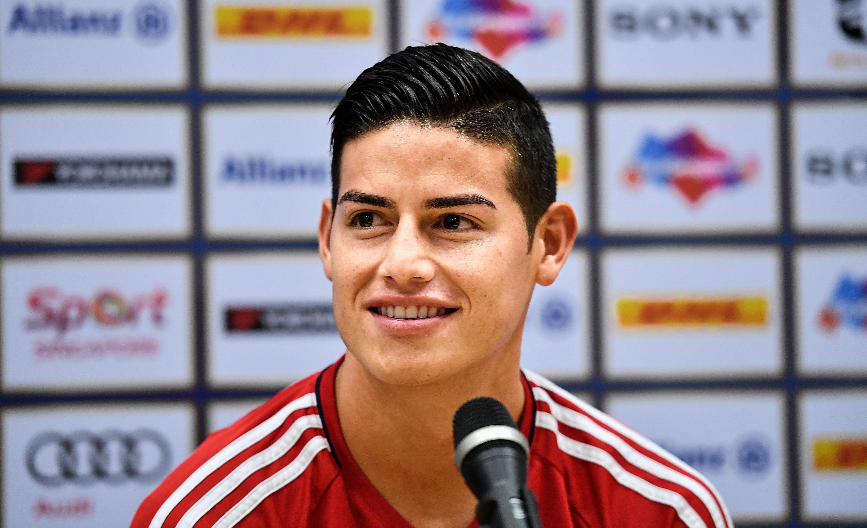James Rodriguez found his smile again