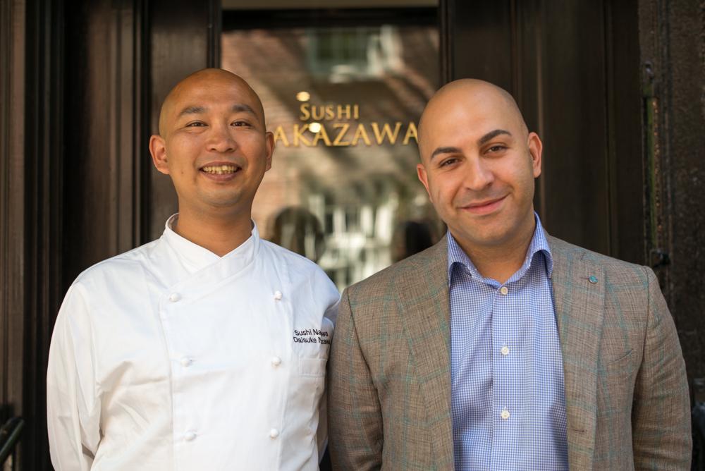 Alessandro Borgognone (right) and Daisuke Nakazawa (left)