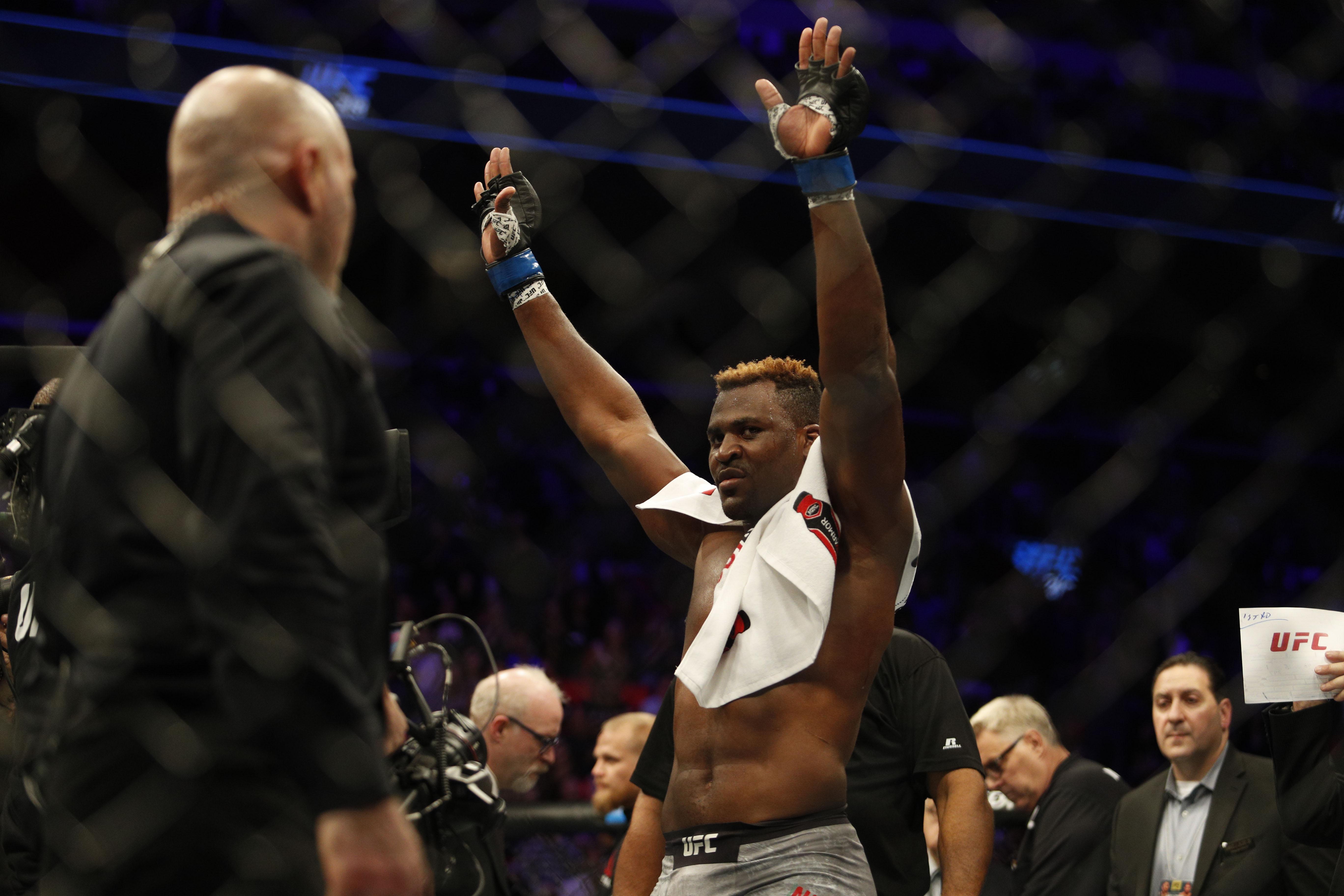 MMA: UFC 218-Overeem vs Ngannou