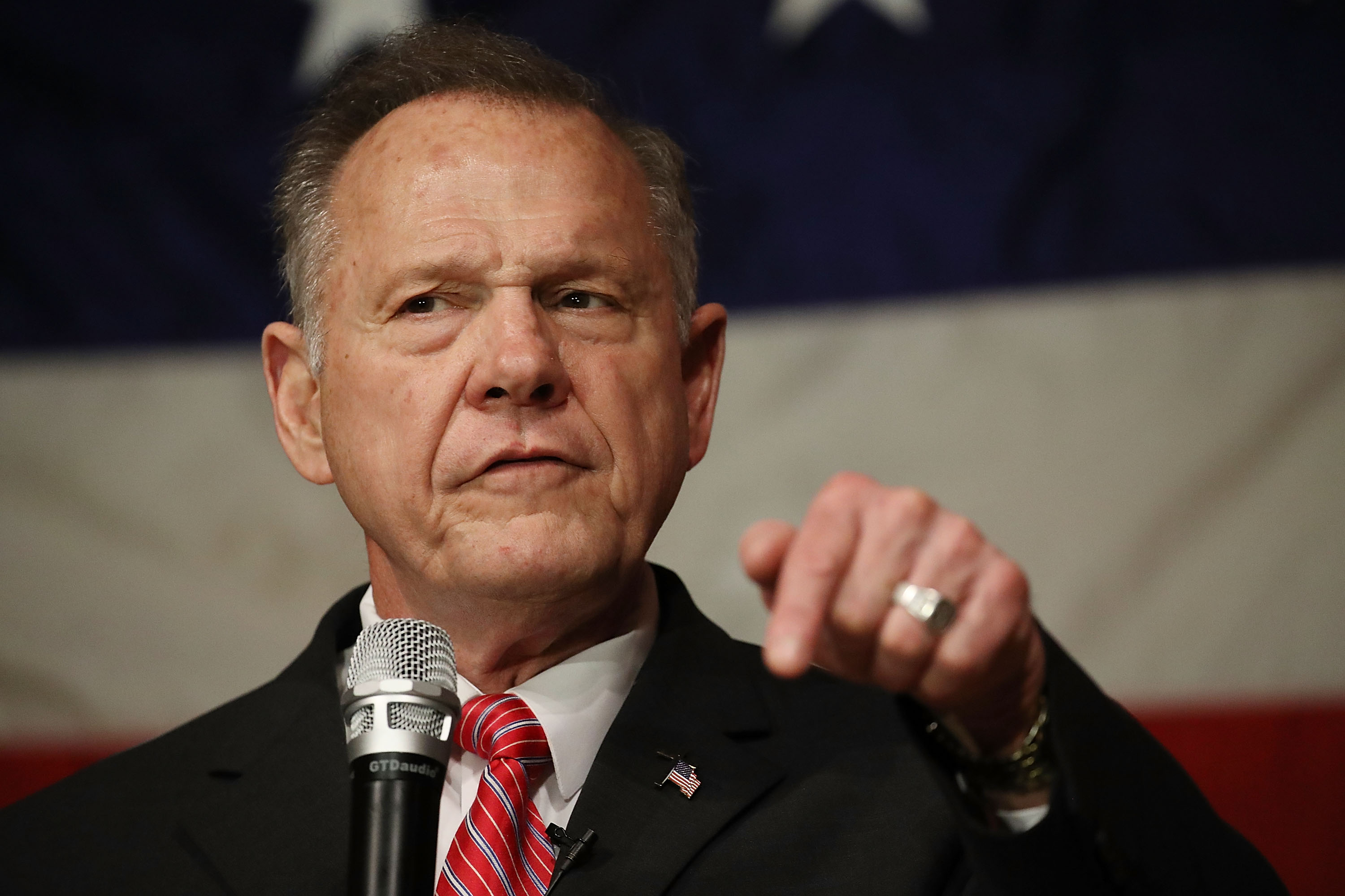 "Roy Moore: America ""was great at the time when families were united — even though we had slavery"""