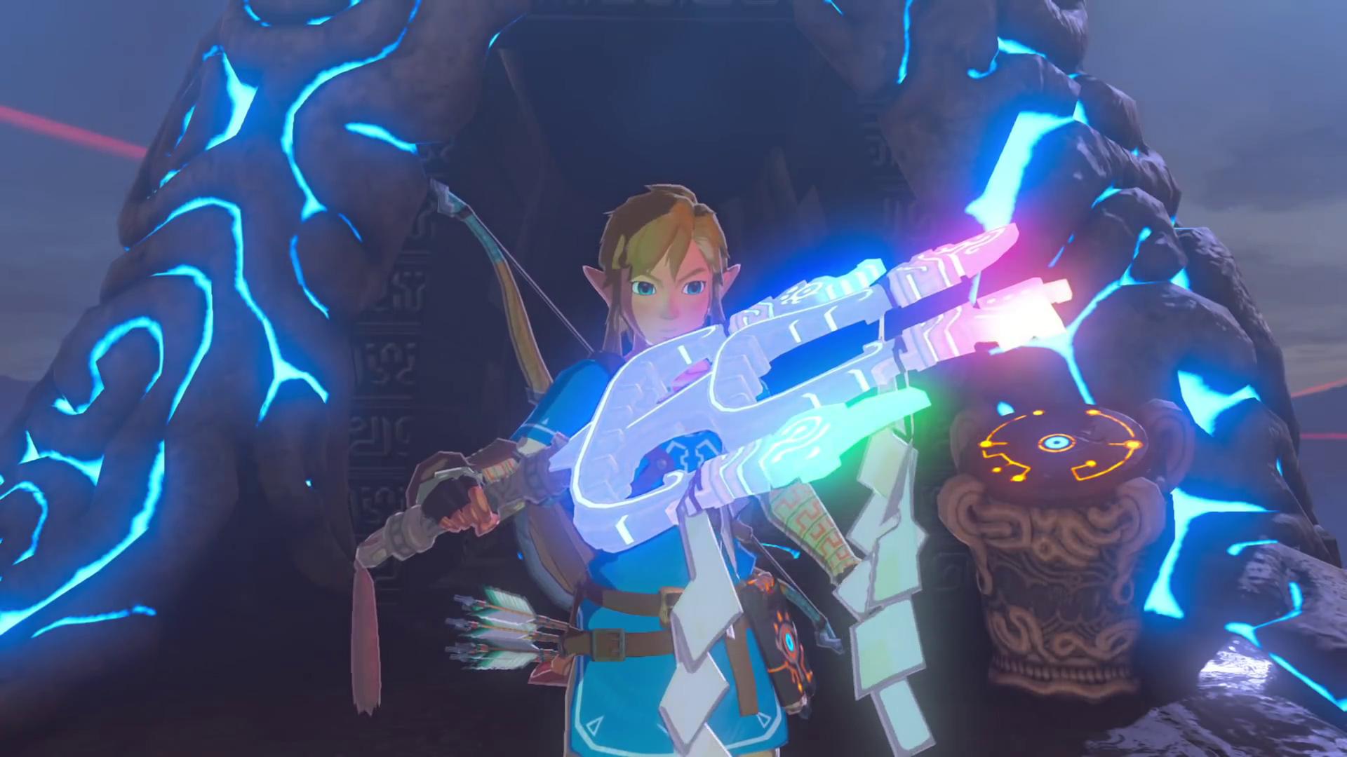 Zelda Breath Of The Wild S 2nd Dlc Released Link Has A Motorcycle