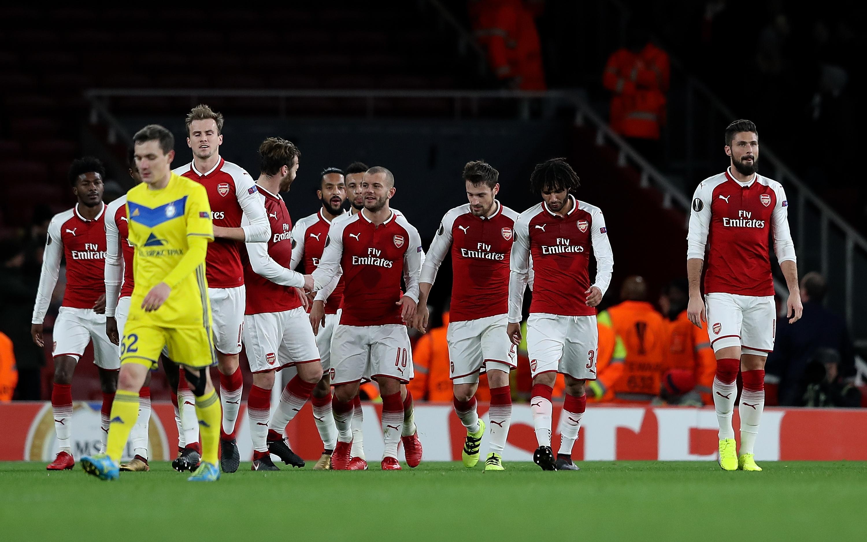 Arsenal FC v BATE Borisov - UEFA Europa League
