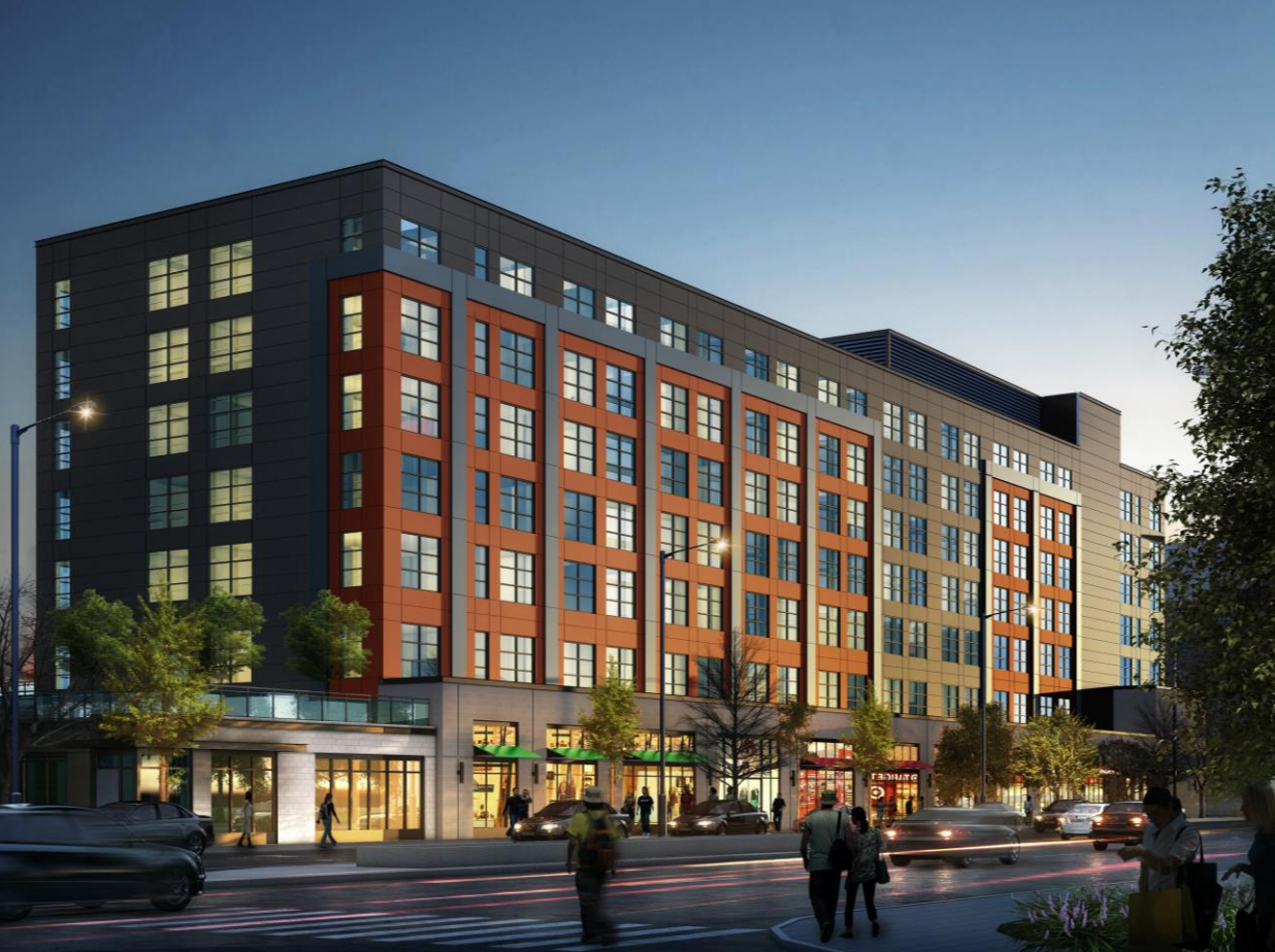 A rendering of the Concord on Sheridan project in Rogers Park.