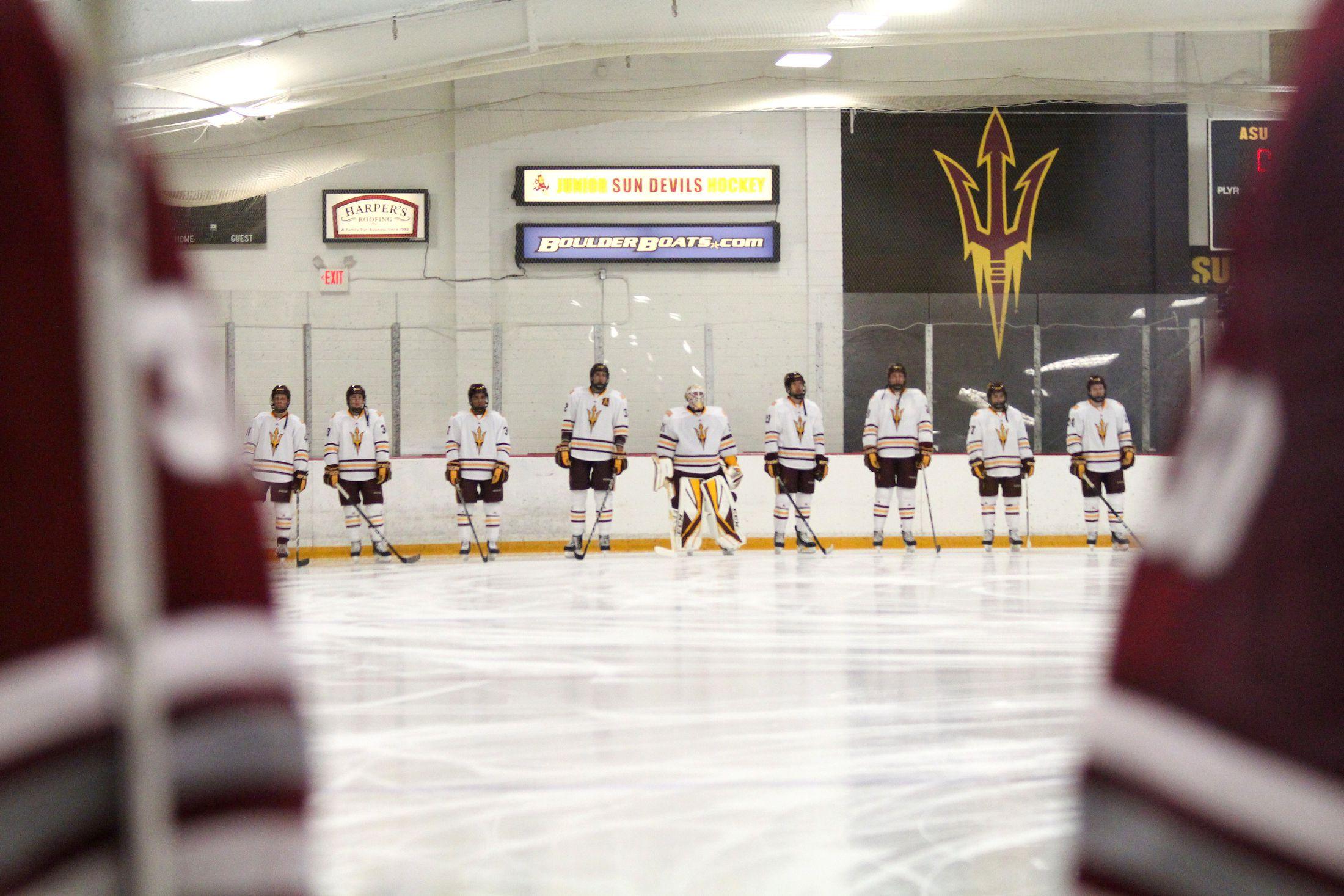 ASU Hockey - Sun Devils Split Home Series With Princeton