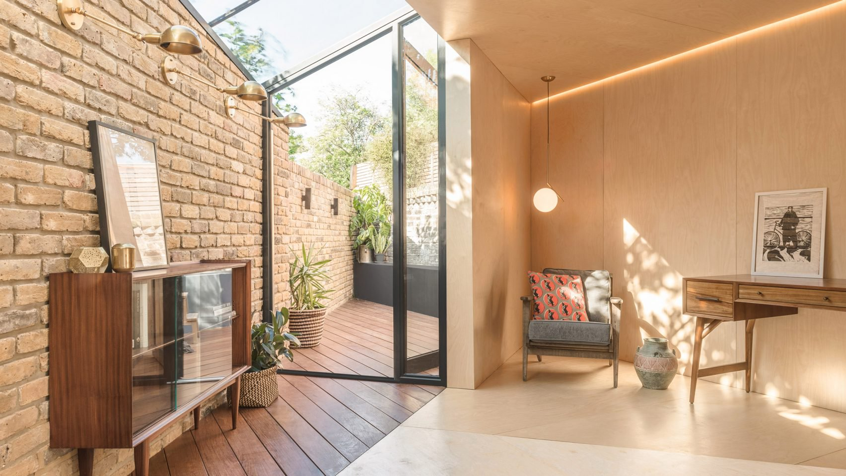 Victorian House Gets A Touch Of Whimsy With Triangular Extension