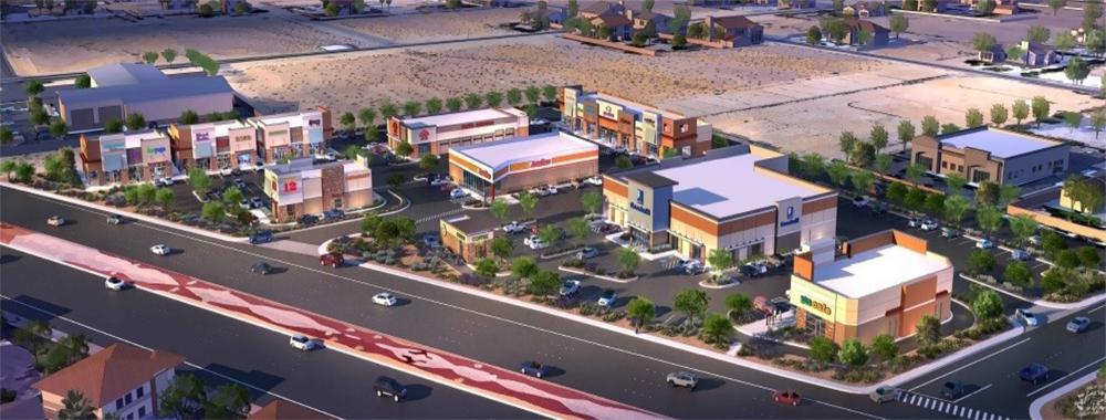 Shoppes at Blue Diamond rendering