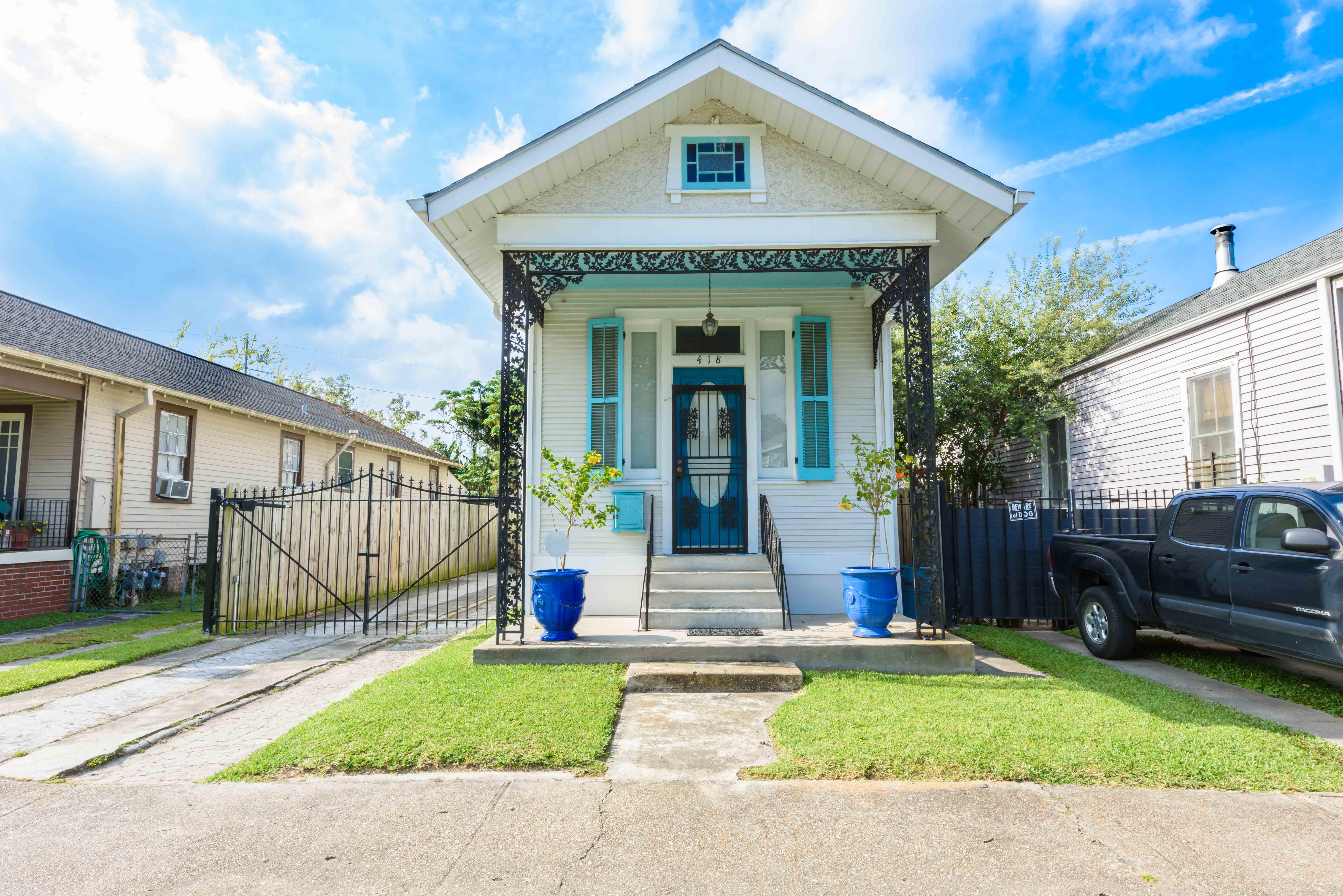 418 Monticello Street in Jefferson, Louisiana.