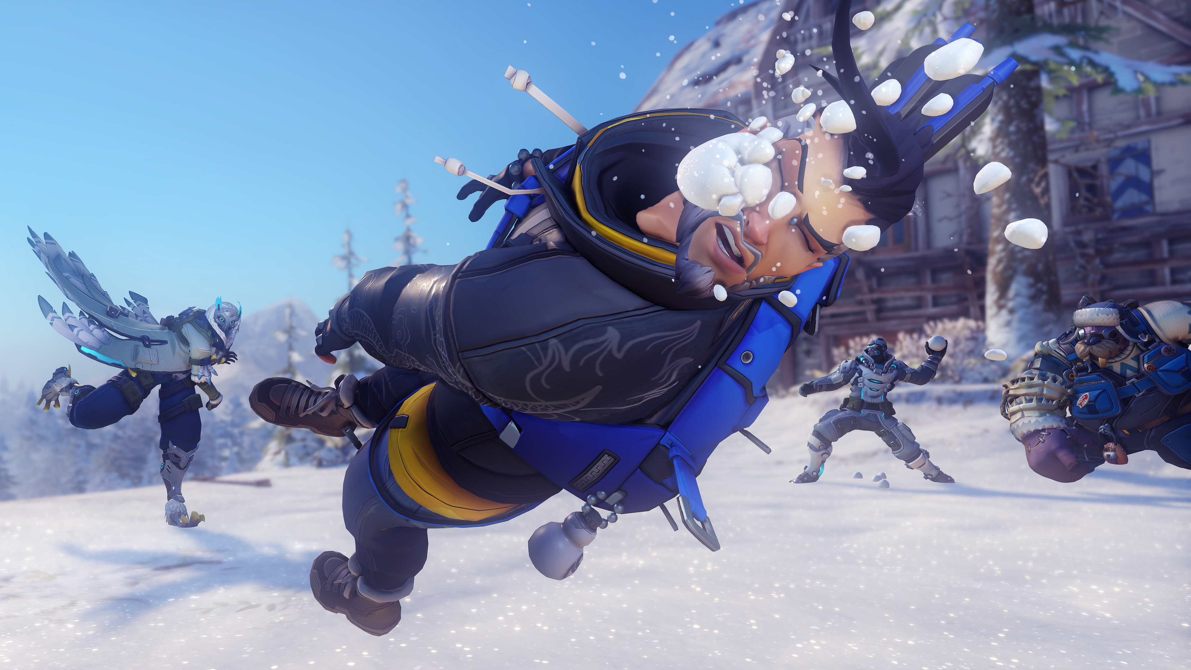 hanzos holiday skin serves as a cautionary tale for overwatch heroes never die