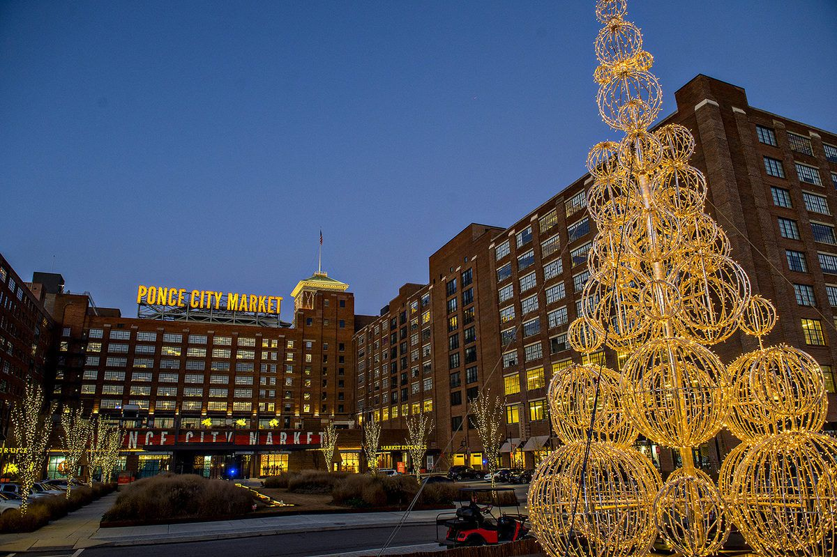 A photo of Ponce City Market in Atlanta's Old Fourth Ward.
