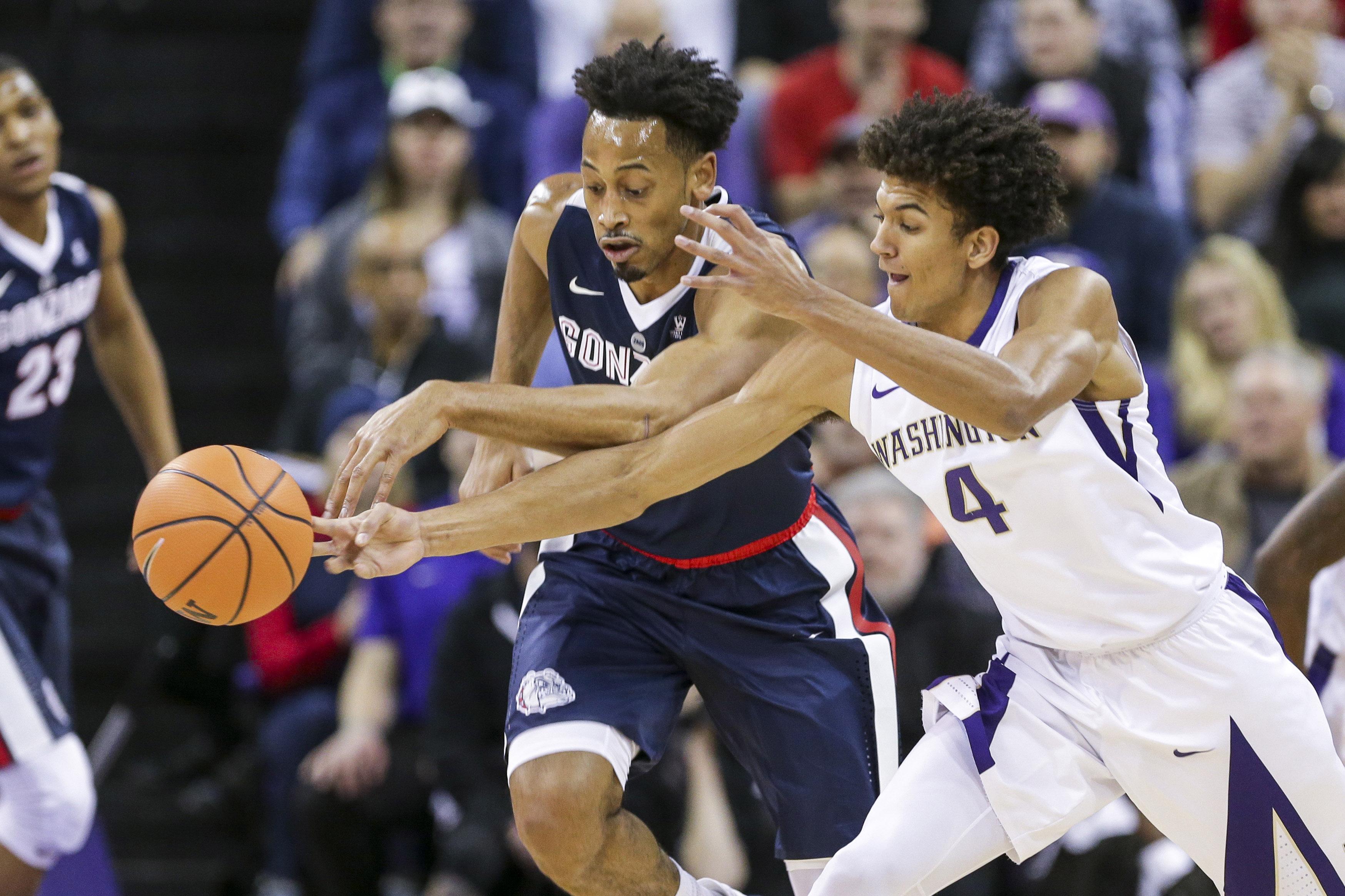 NCAA Basketball: Gonzaga at Washington