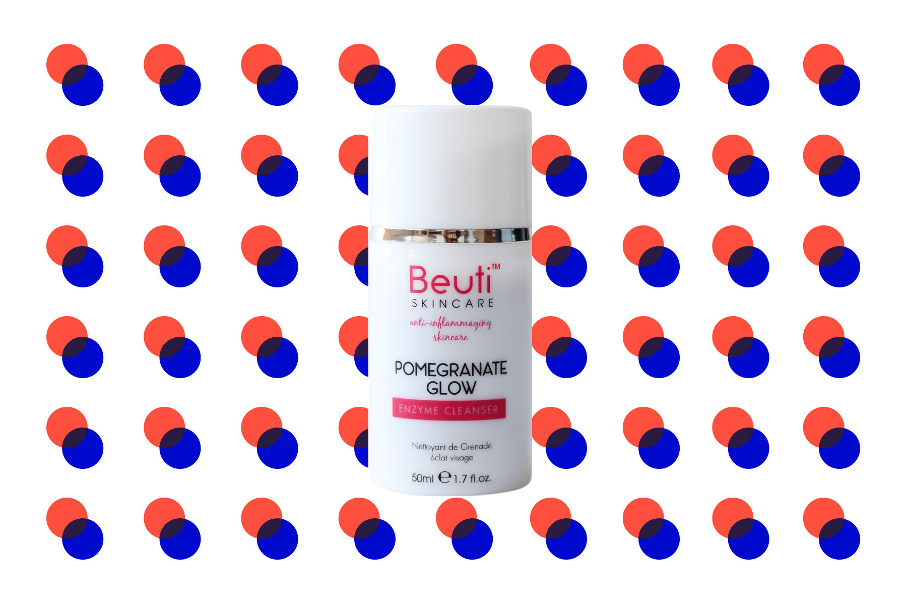 Beuti Skincare Pomegranate Glow Enzyme Cleanser