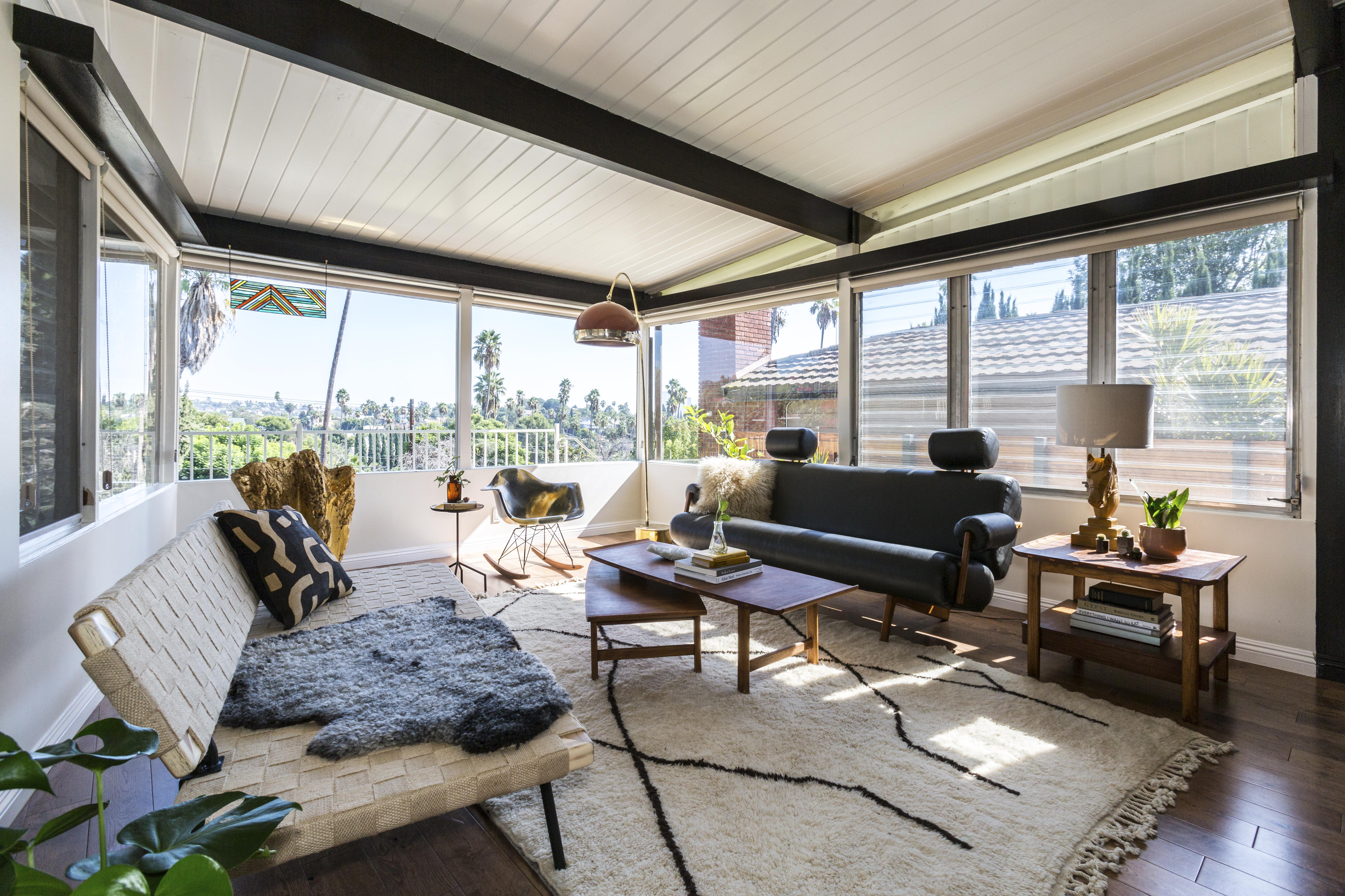 mid century home design.  Broad City star Abbi Jacobson scores a sleek midcentury modern in Silver Lake Midcentury Modern Curbed LA
