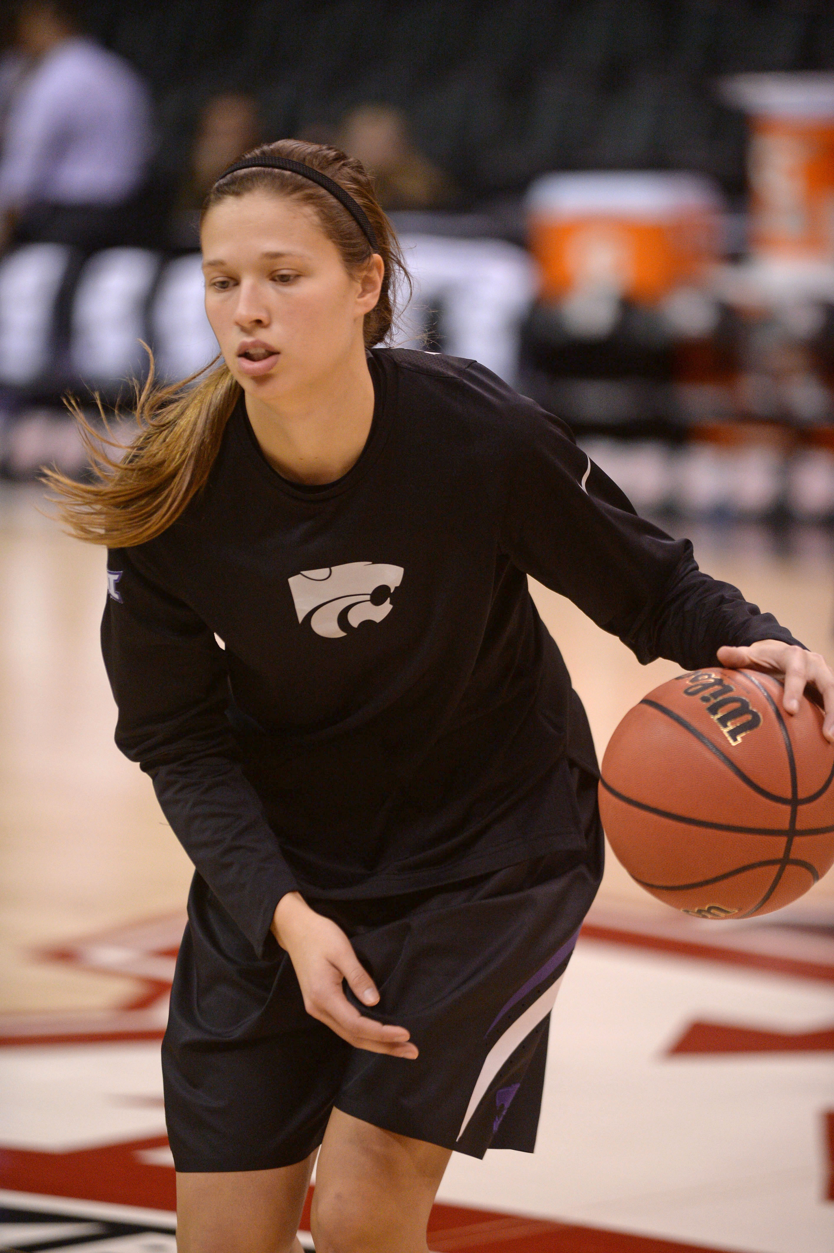 Kayla Goth is responsible for half of K-State's made baskets from the field so far this season.