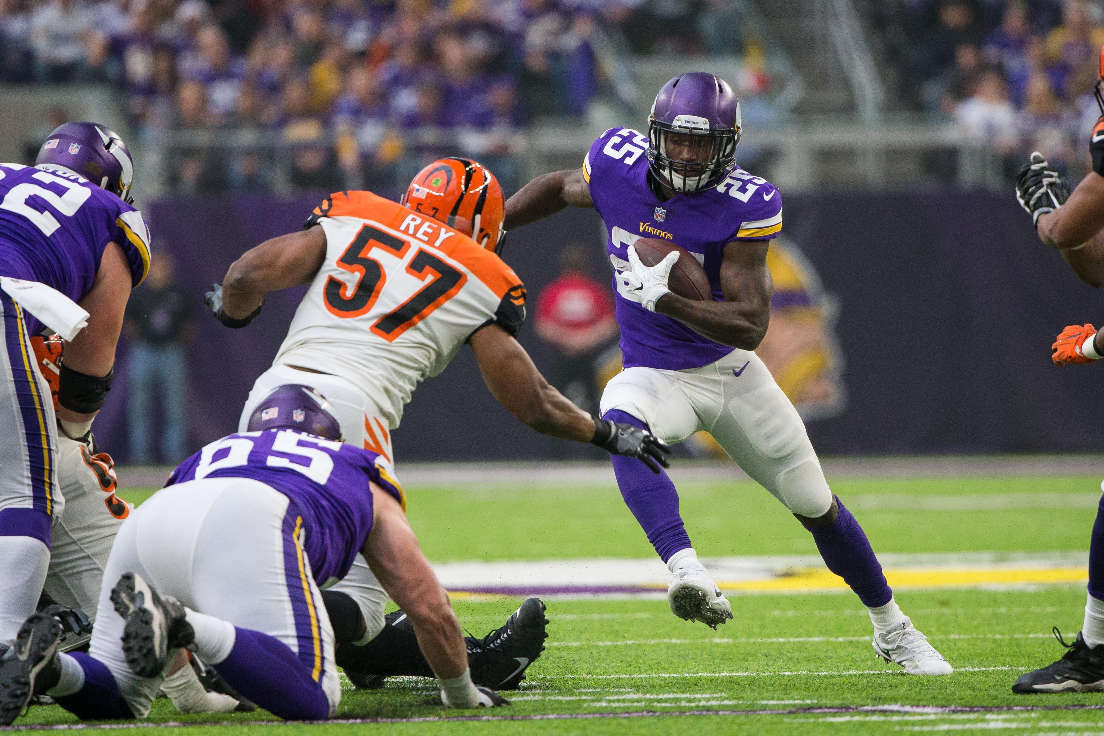 NFL: Cincinnati Bengals at Minnesota Vikings