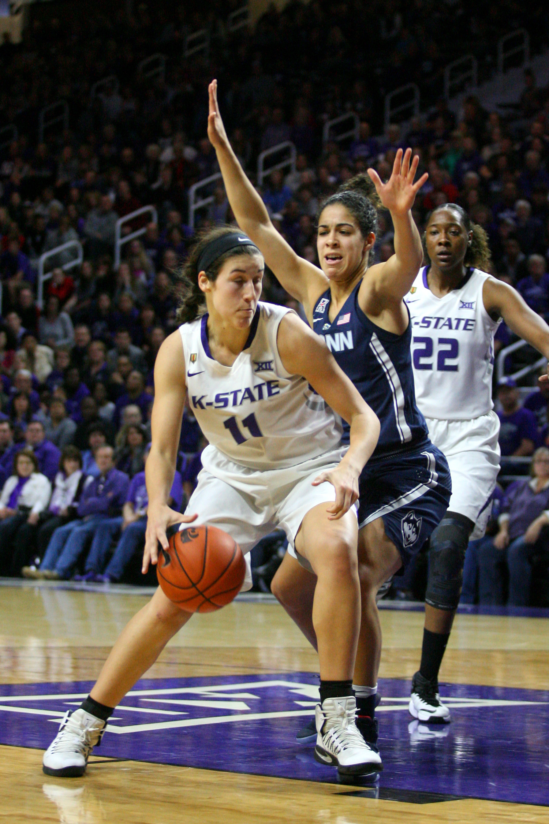 Peyton Williams unloaded on Saturday. Can she do the same tonight?