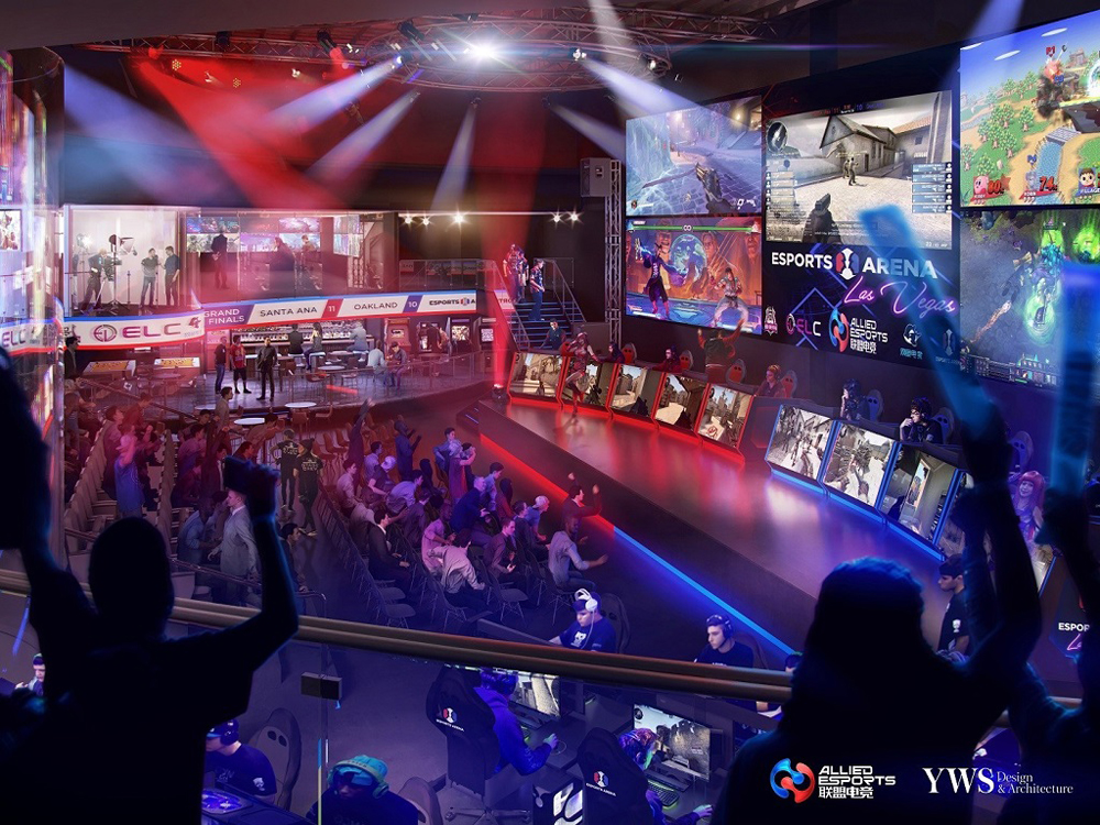 Allied Esports and Esports Arenarendering