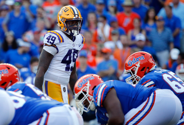NCAA Football: Louisiana State at Florida