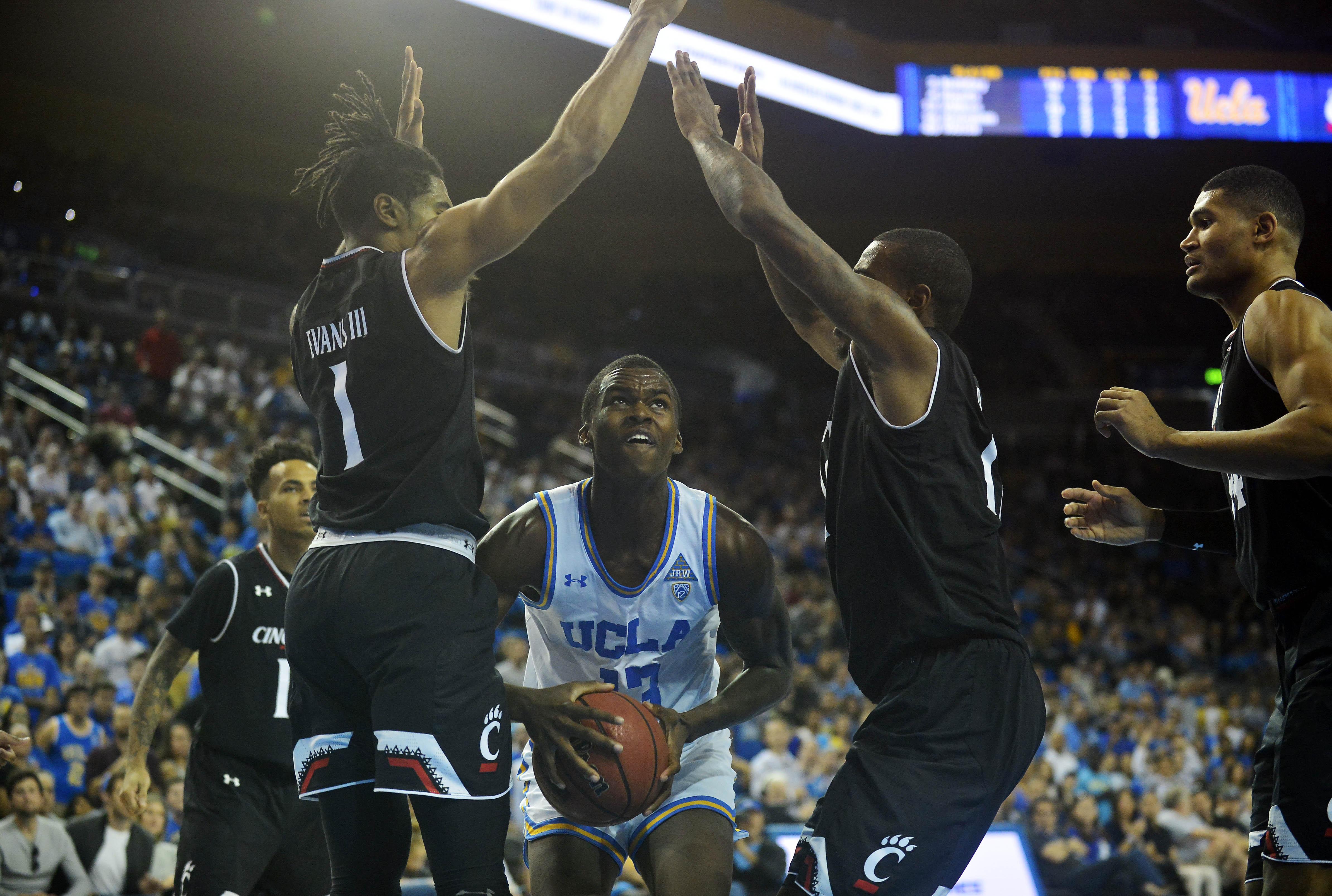 NCAA Basketball: Cincinnati at UCLA