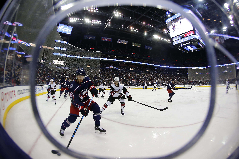 NHL: Arizona Coyotes at Columbus Blue Jackets