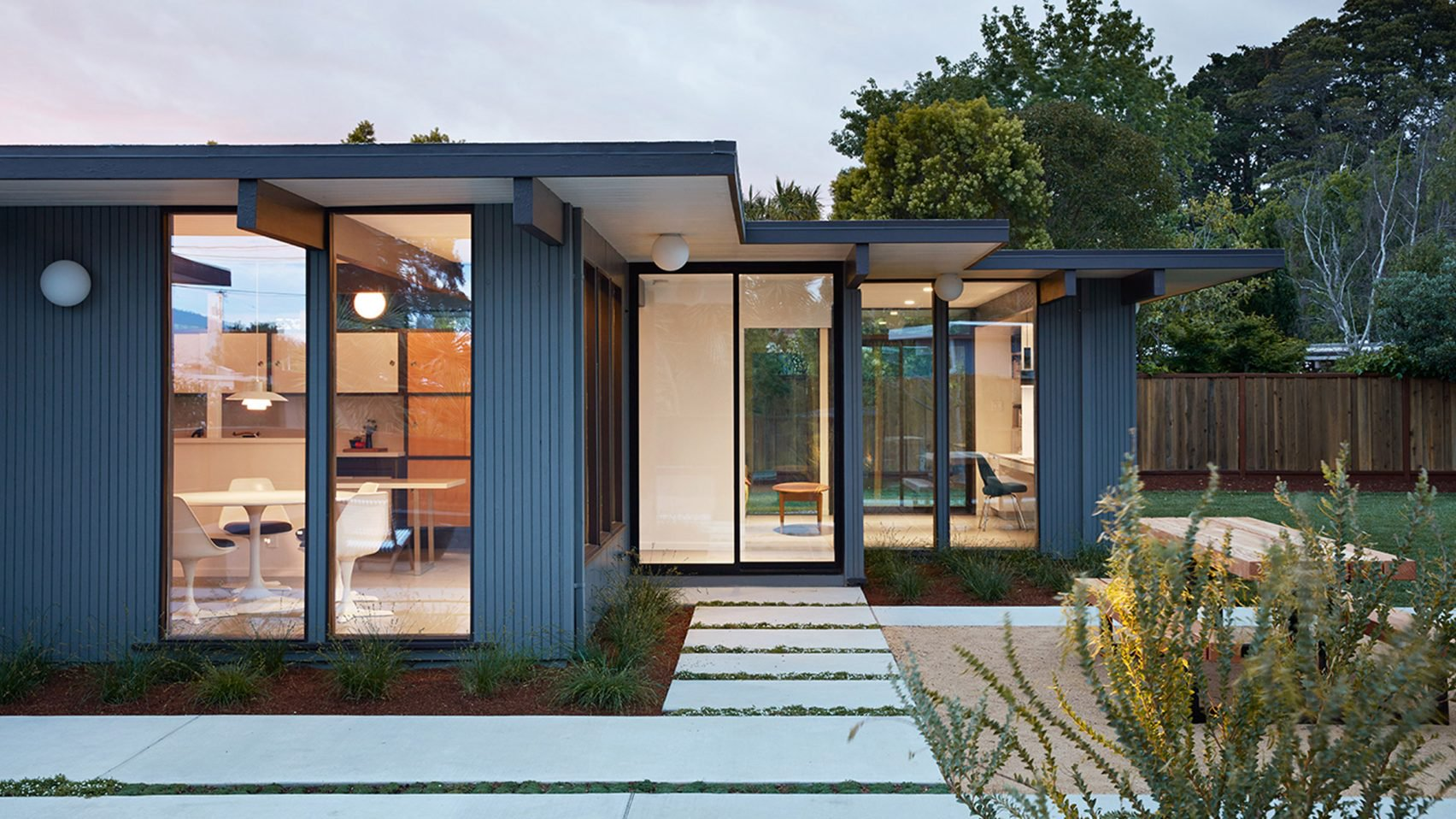 Eichler home renovated, expanded