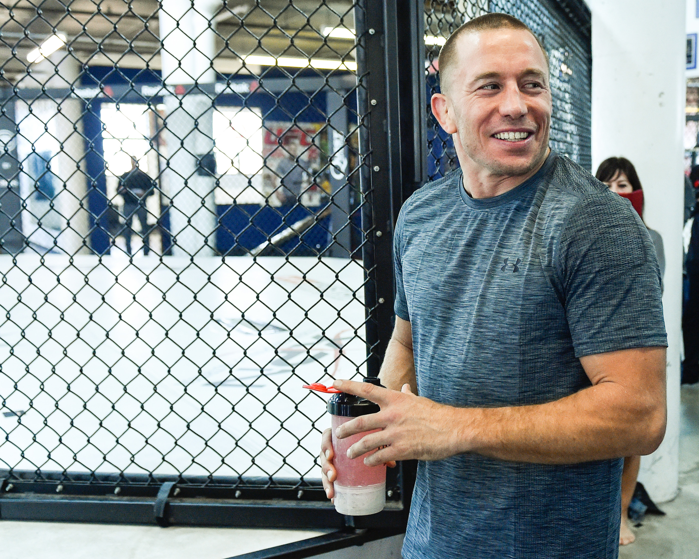 UFC 217: Montreal Media Day with Georges St-Pierre