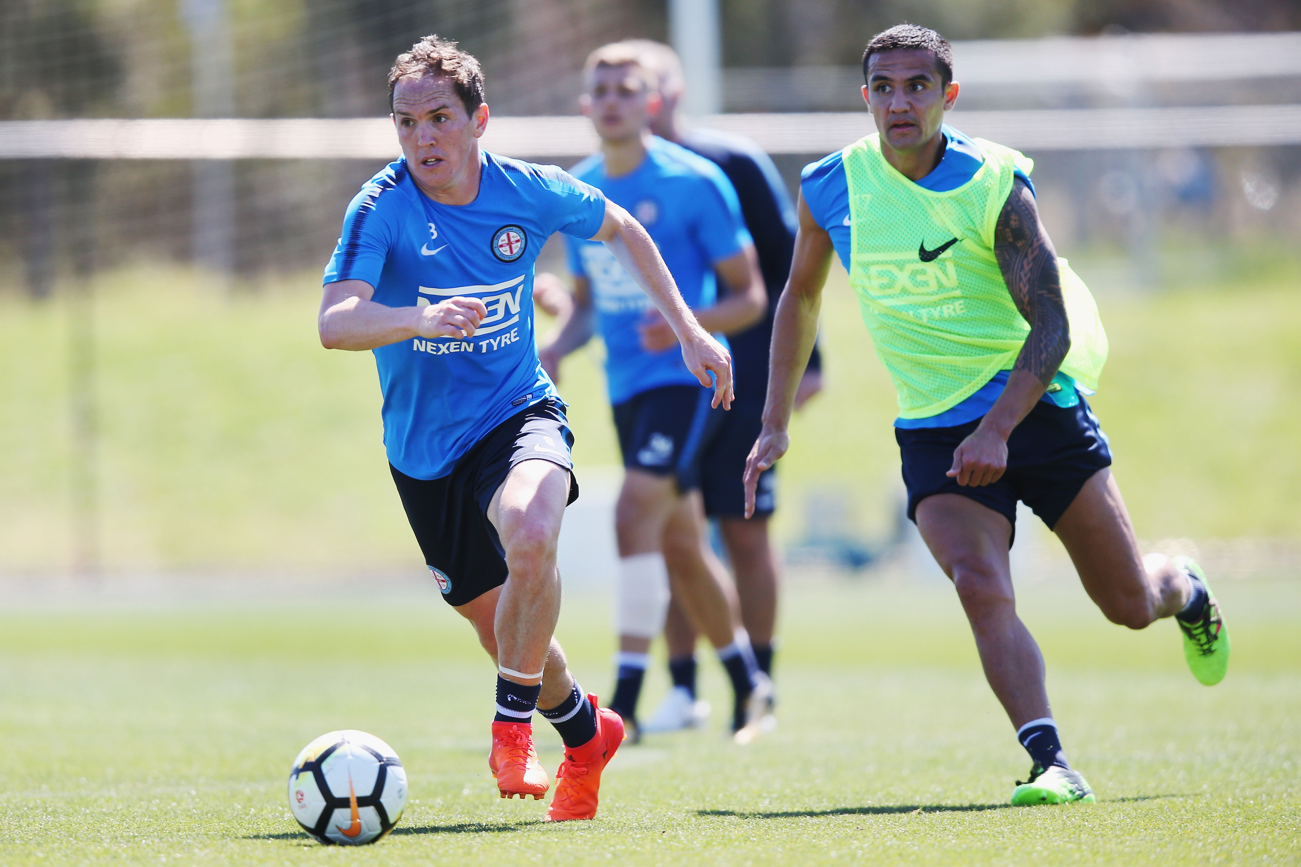 Melbourne City Training Session