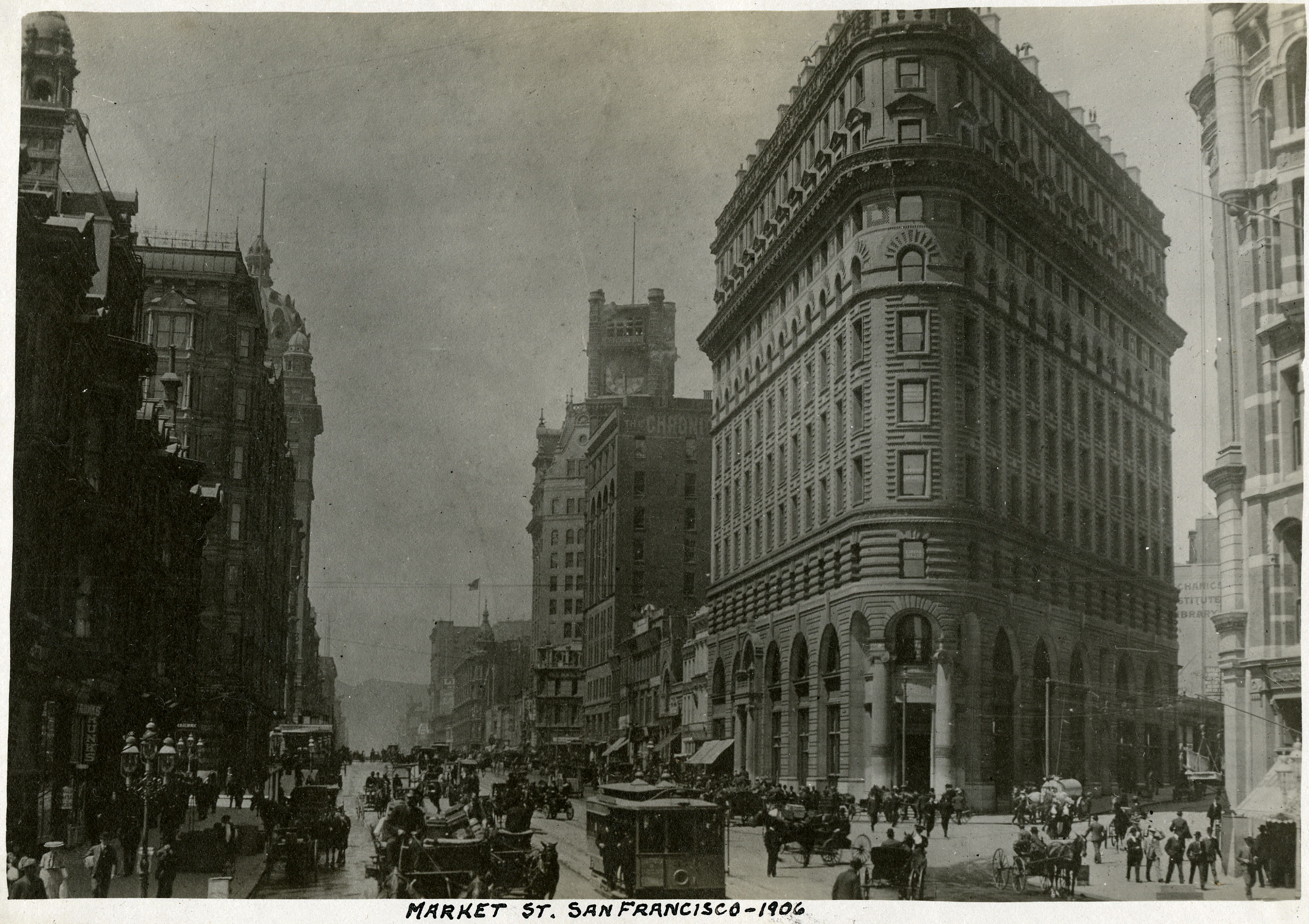 rare photos show san francisco days before 1906 earthquake curbed sf